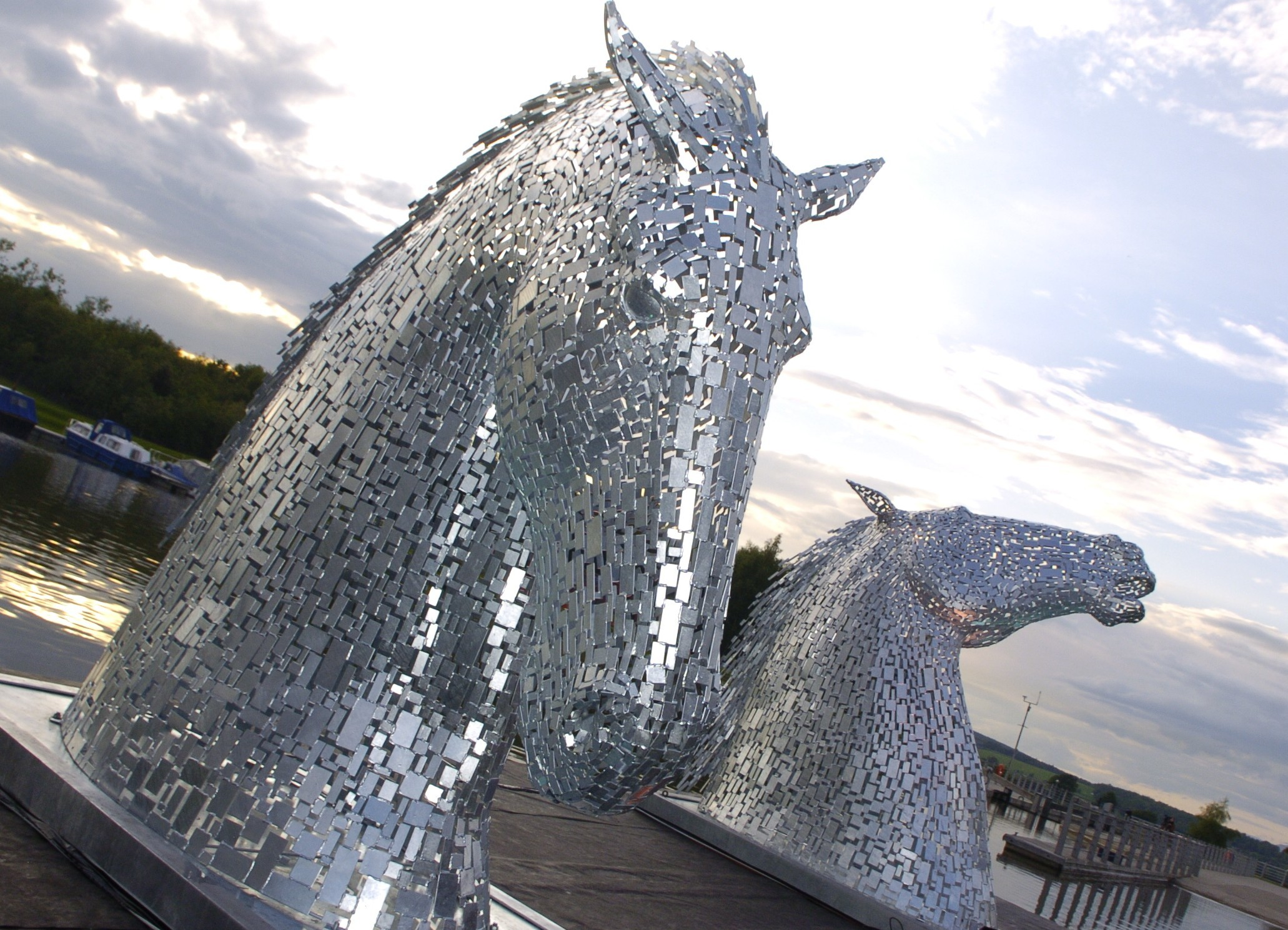 The Kelpie Maquettes at The Helix