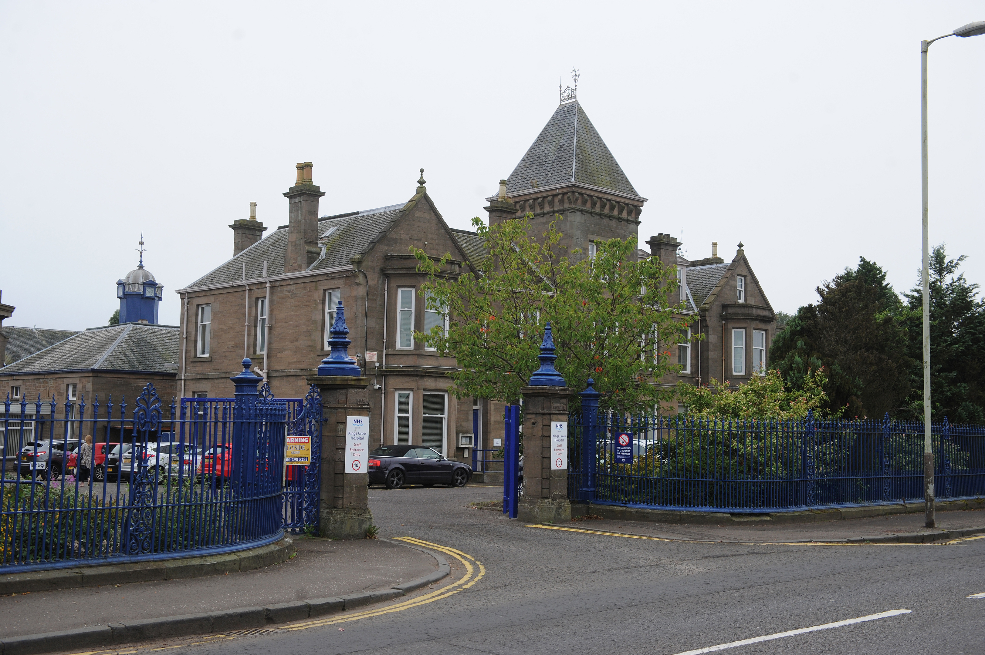 The out-of-hours GP service is based at Kings Cross Hospital on Clepington Road.