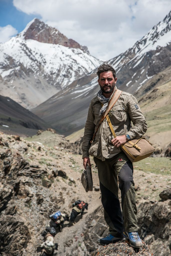 Levison in the Himalayas.