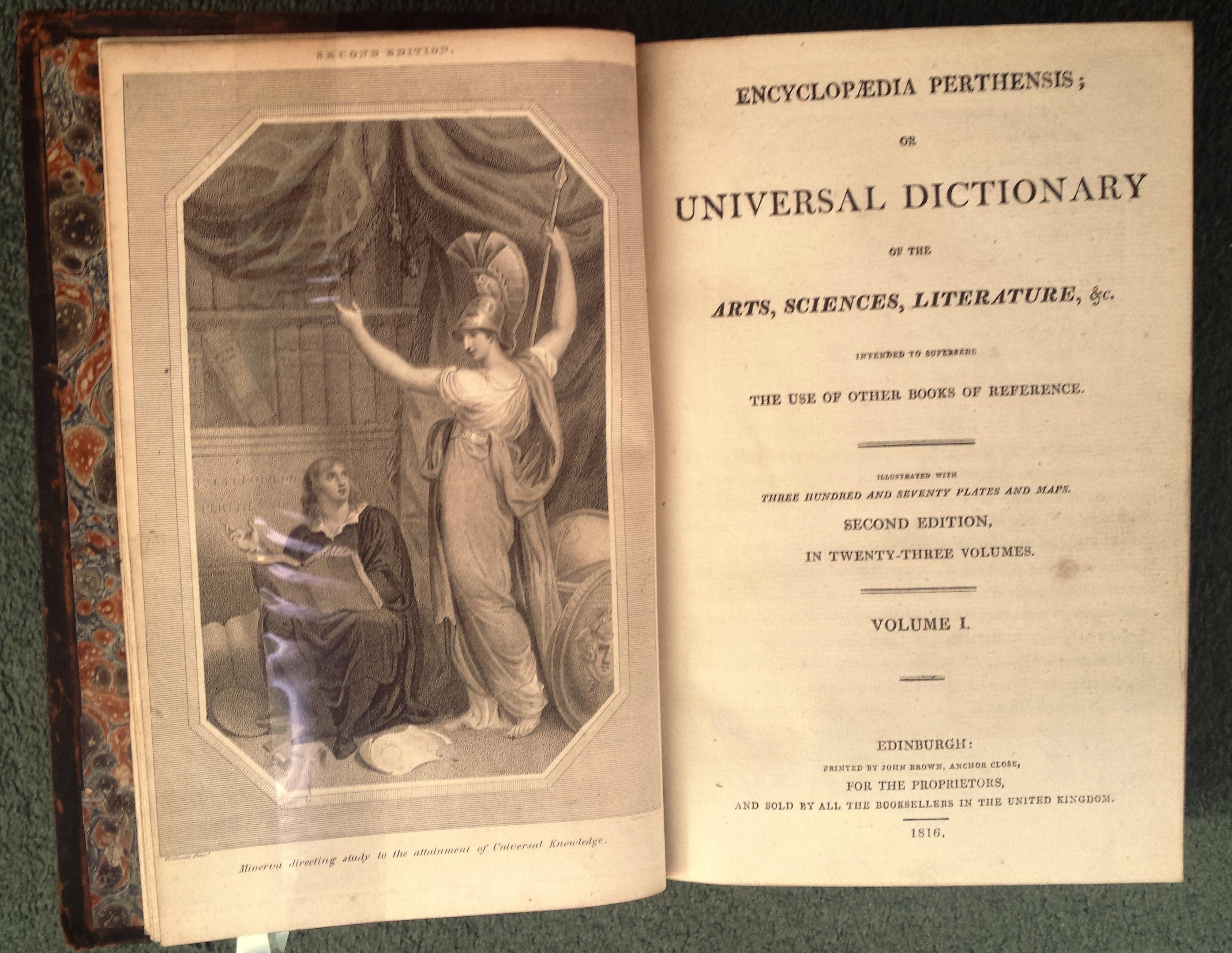 Encyclopaedia Perthensis, £1800