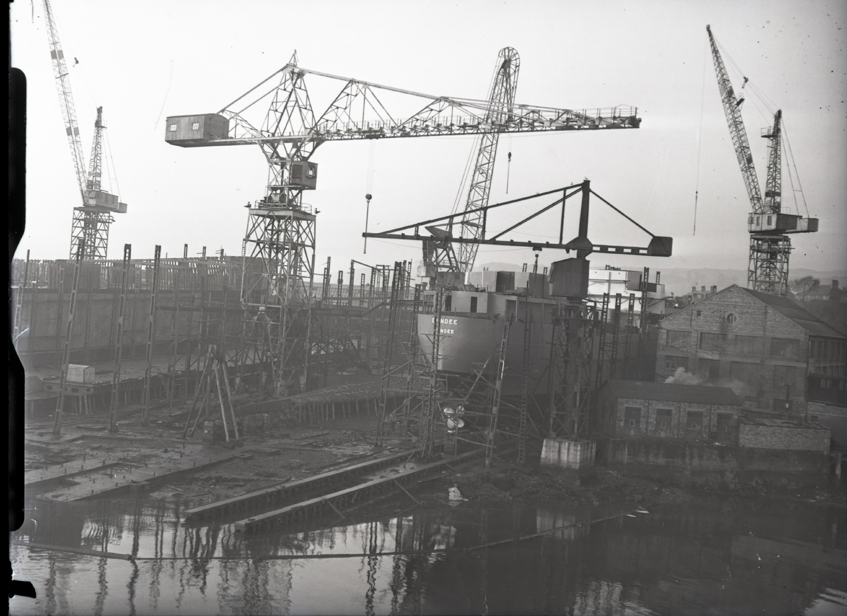 Burntisland Shipbuilding Yard in 1953.