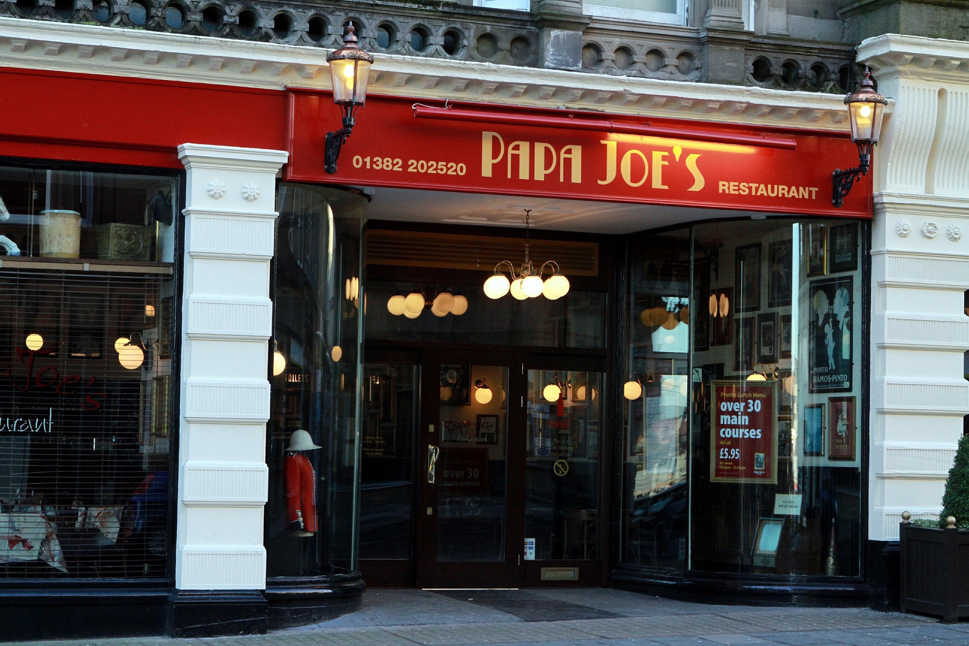 Papa Joe's will be re-launched as Tony Macaroni.