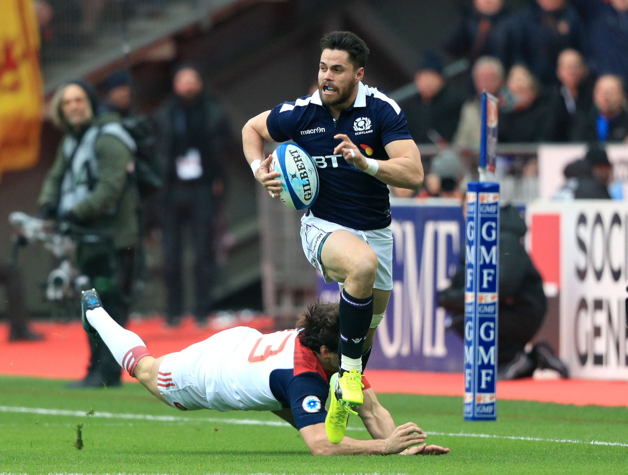 Sean Maitland should be back in the Scotland team to take on France.