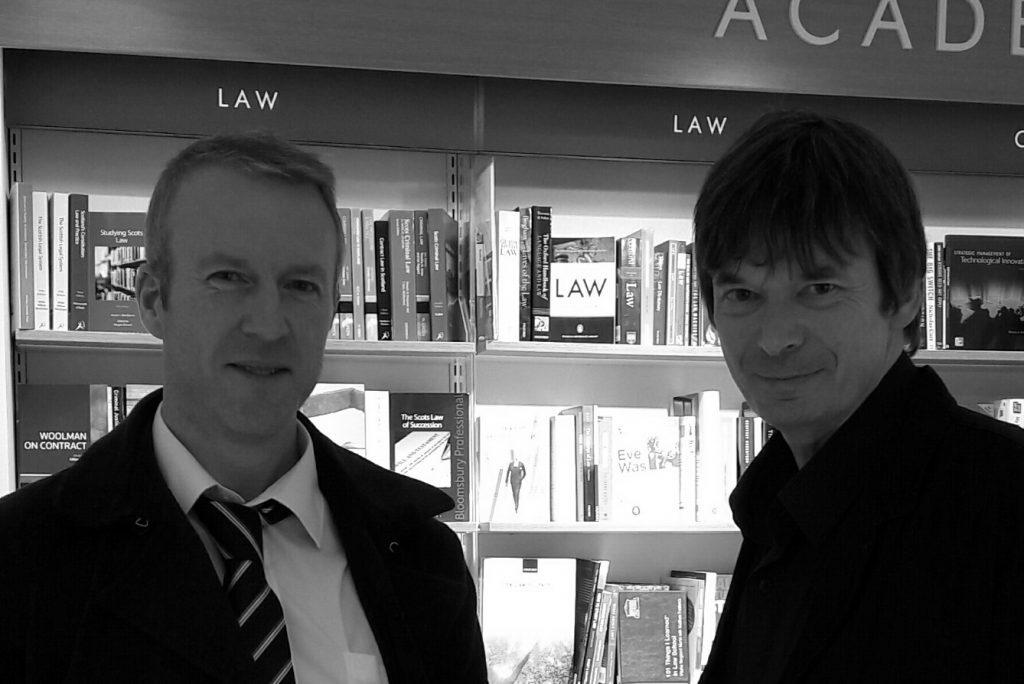 The Couriers Michael Alexander meets Ian Rankin in Edinburgh