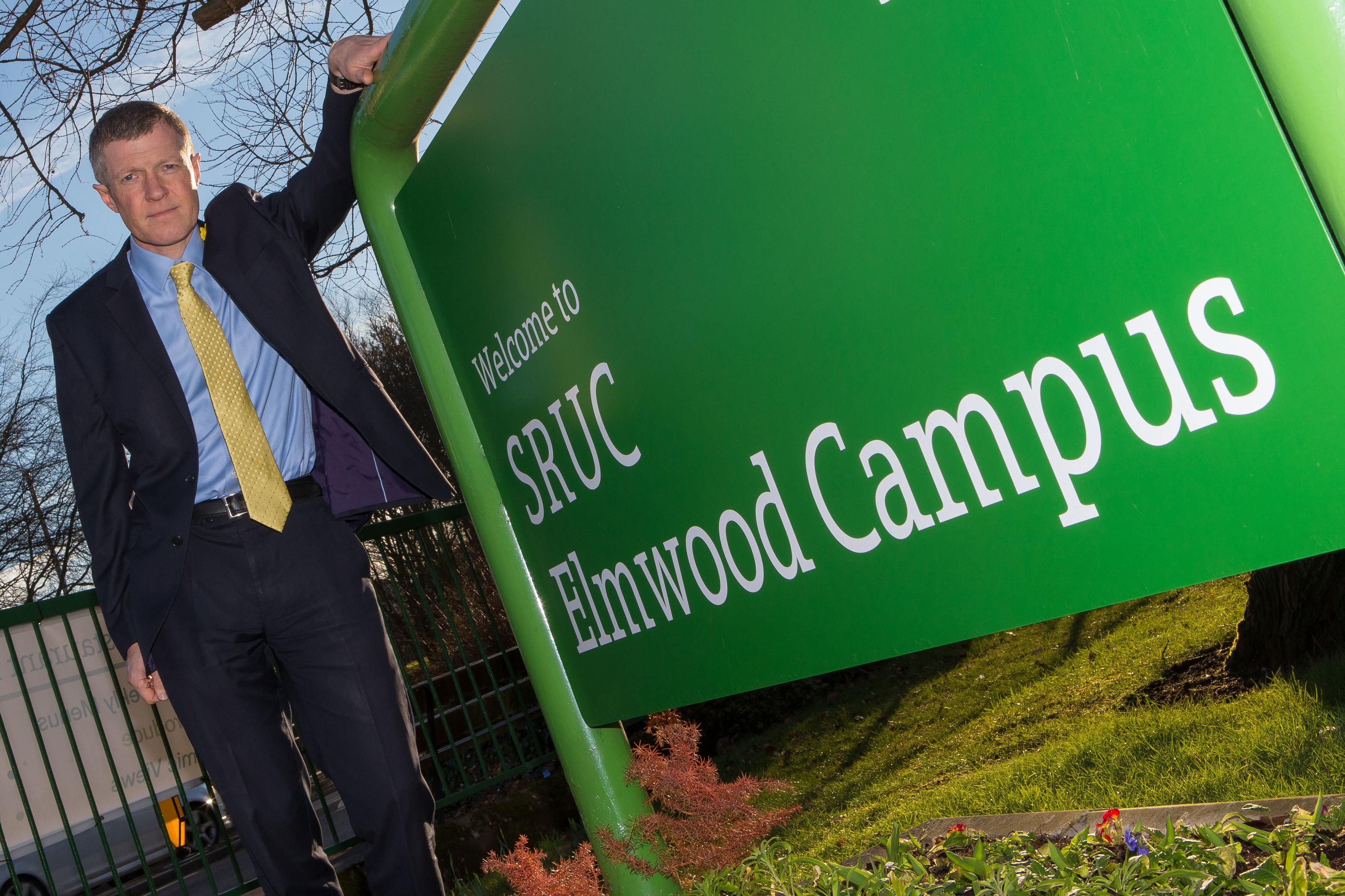 MSP Willie Rennie at Elmwood Campus