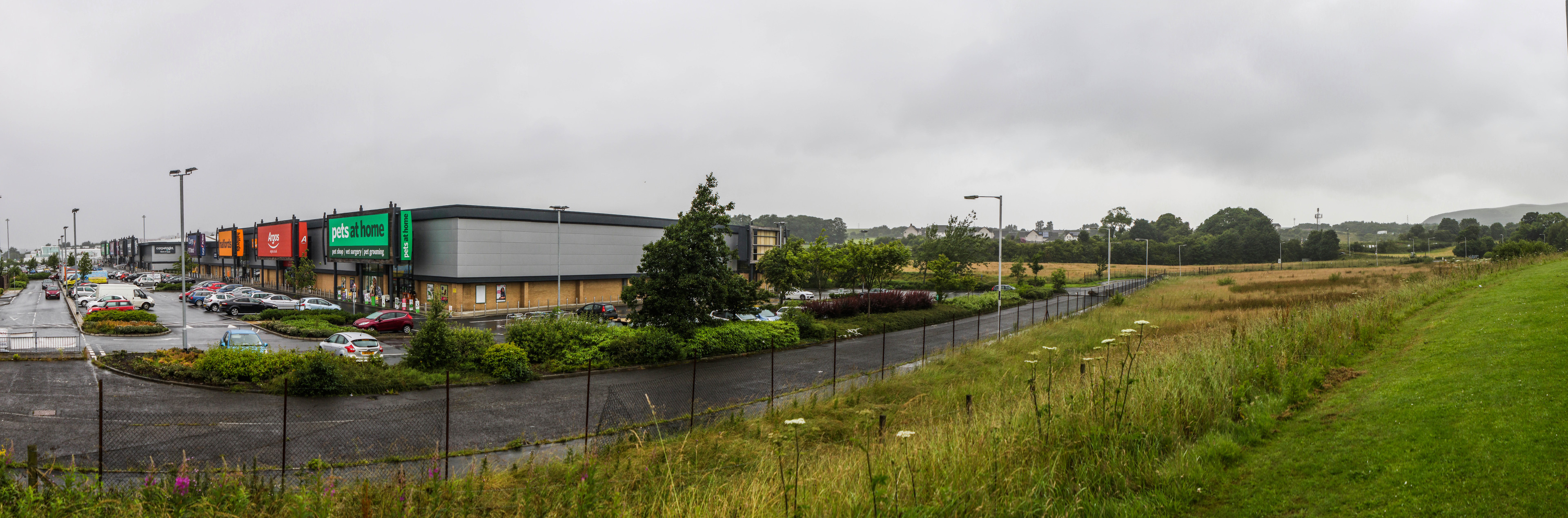 The site at Halbeath retail park