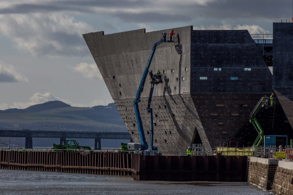 The VA is taking shape at Dundee Waterfront