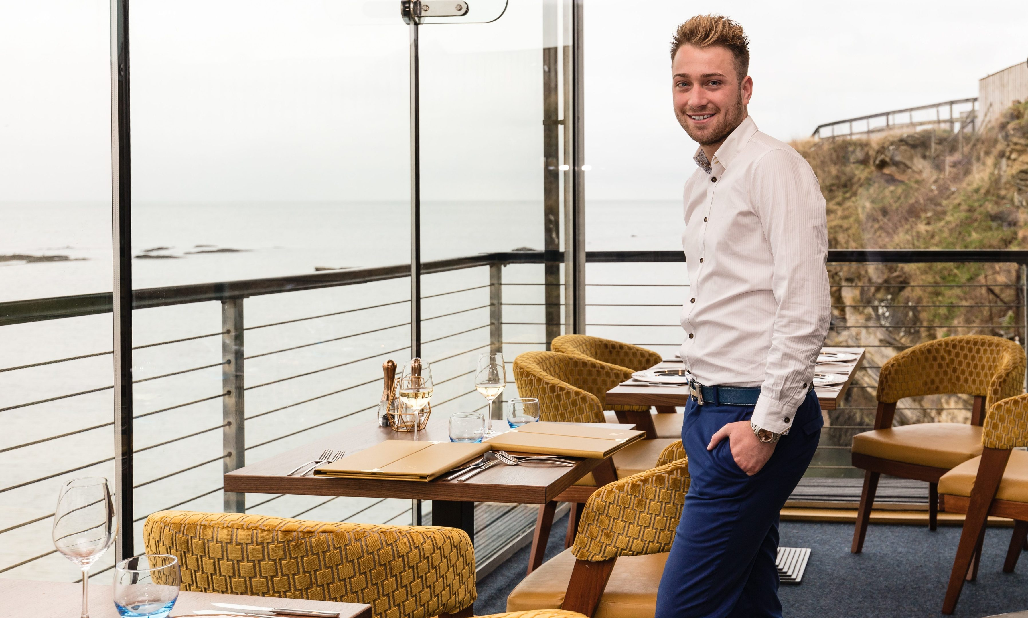 Stefano Pieraccini, new owner of the Seafood Ristorante at St Andrews