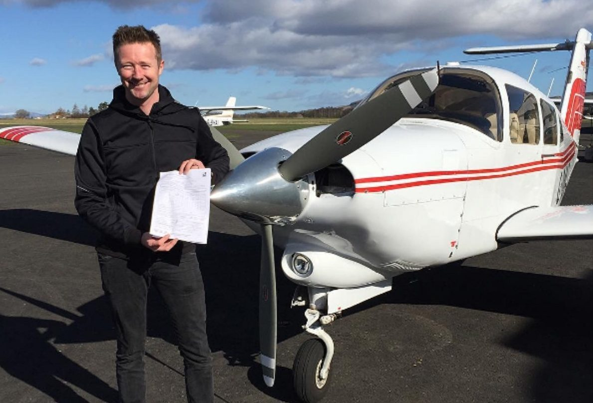 Gordon Shedden took to Instagram to reveal his news.