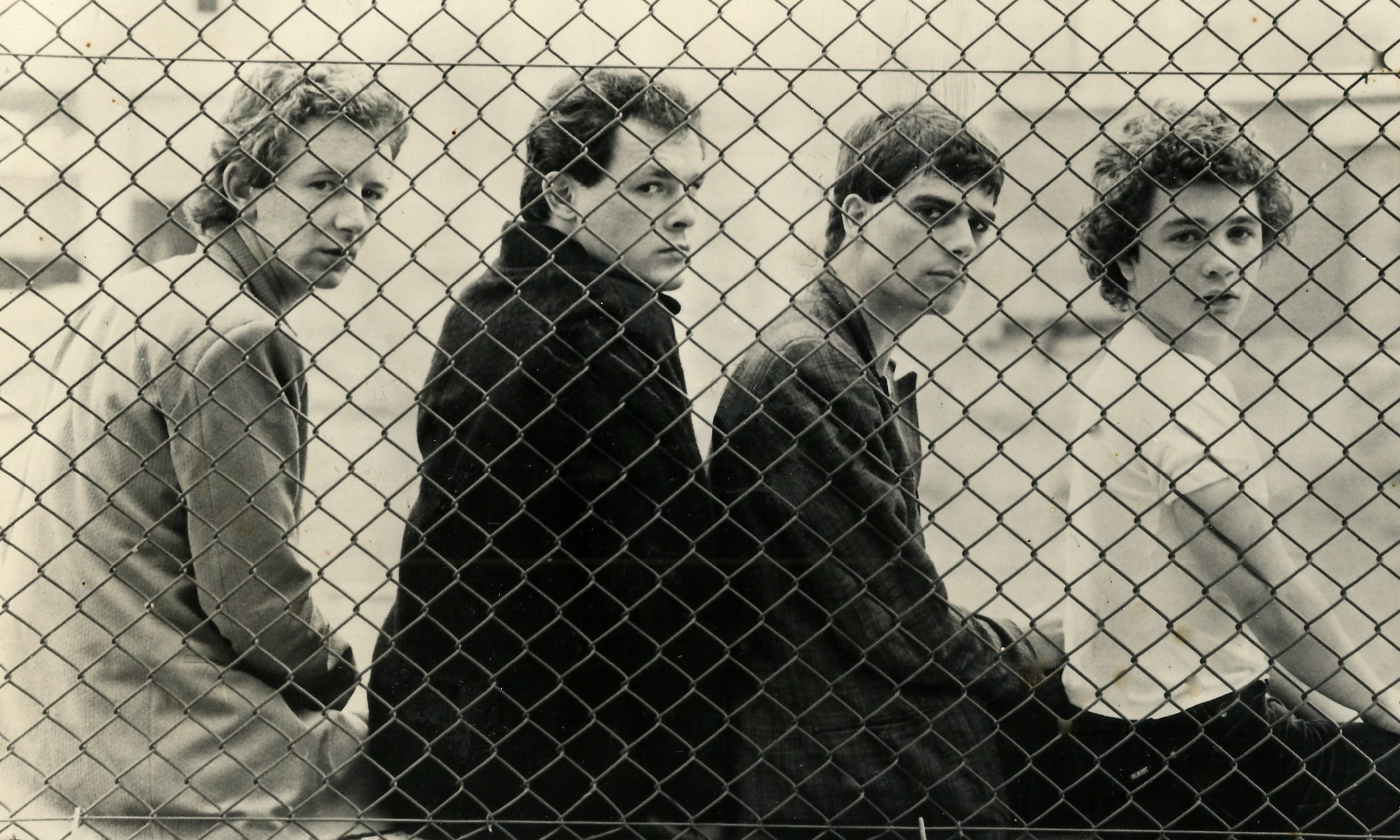 The Associates's first ever promo shot, taken in 1978.