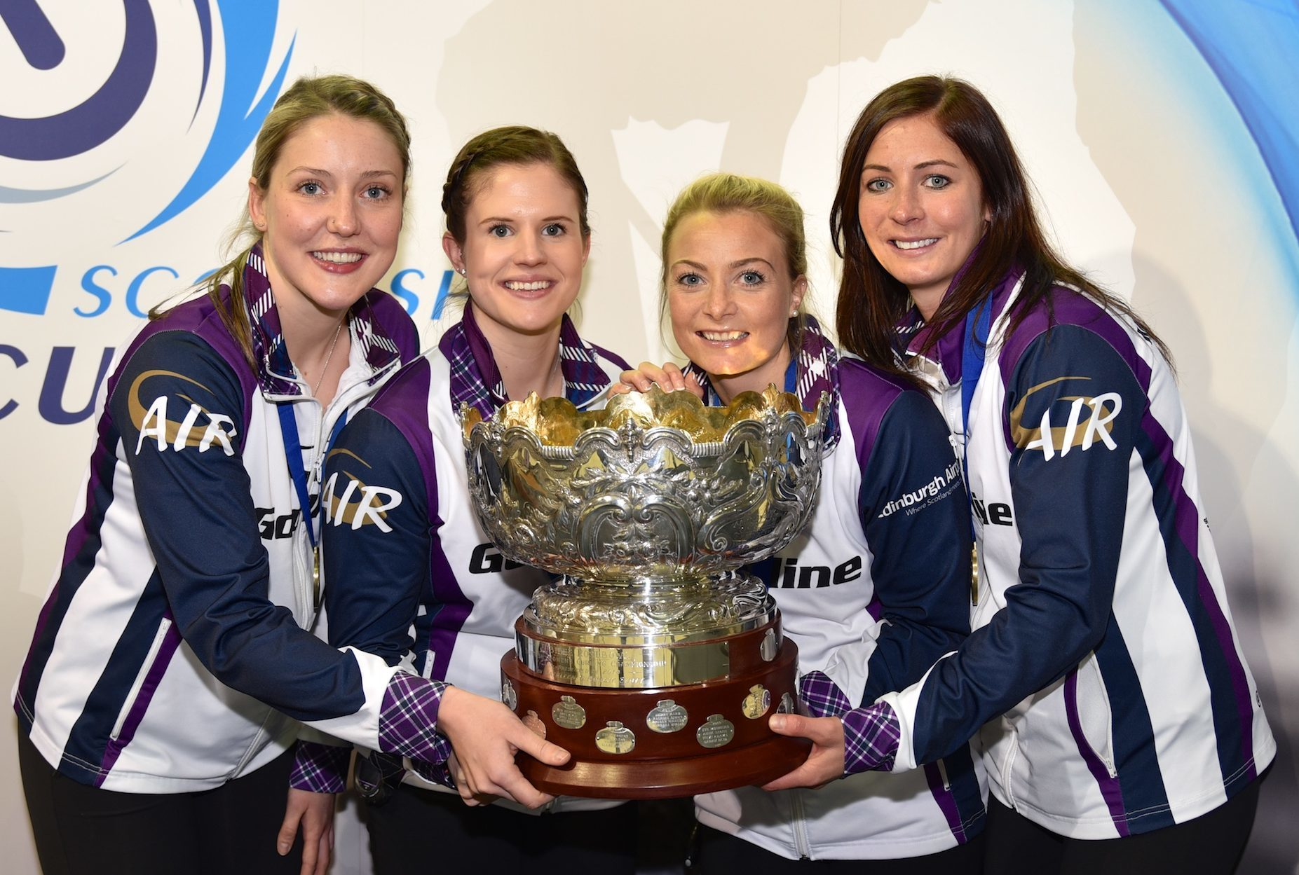 Team Muirhead, Scottish champions again.