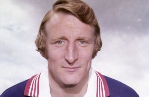 Tommy Gemmell when he captained Dundee FC.