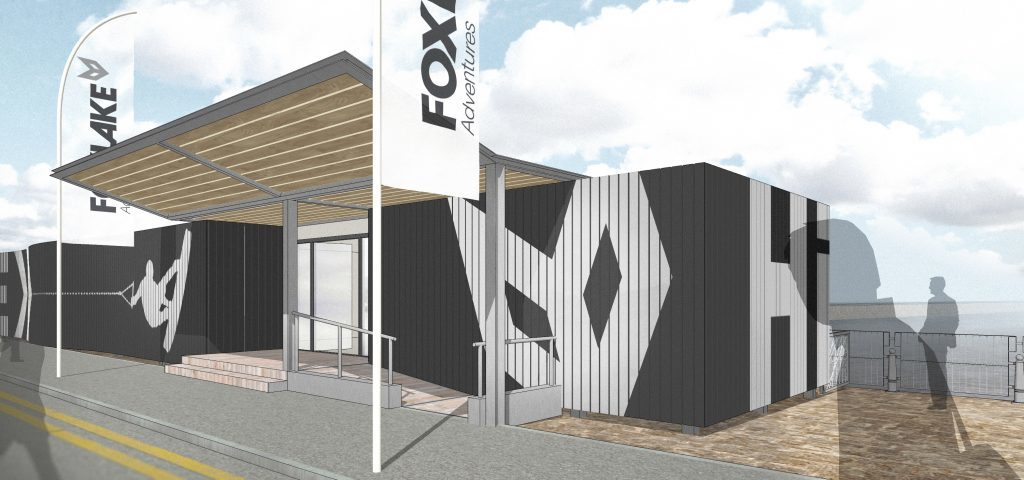 Foxlake will install cabins as part of the project.