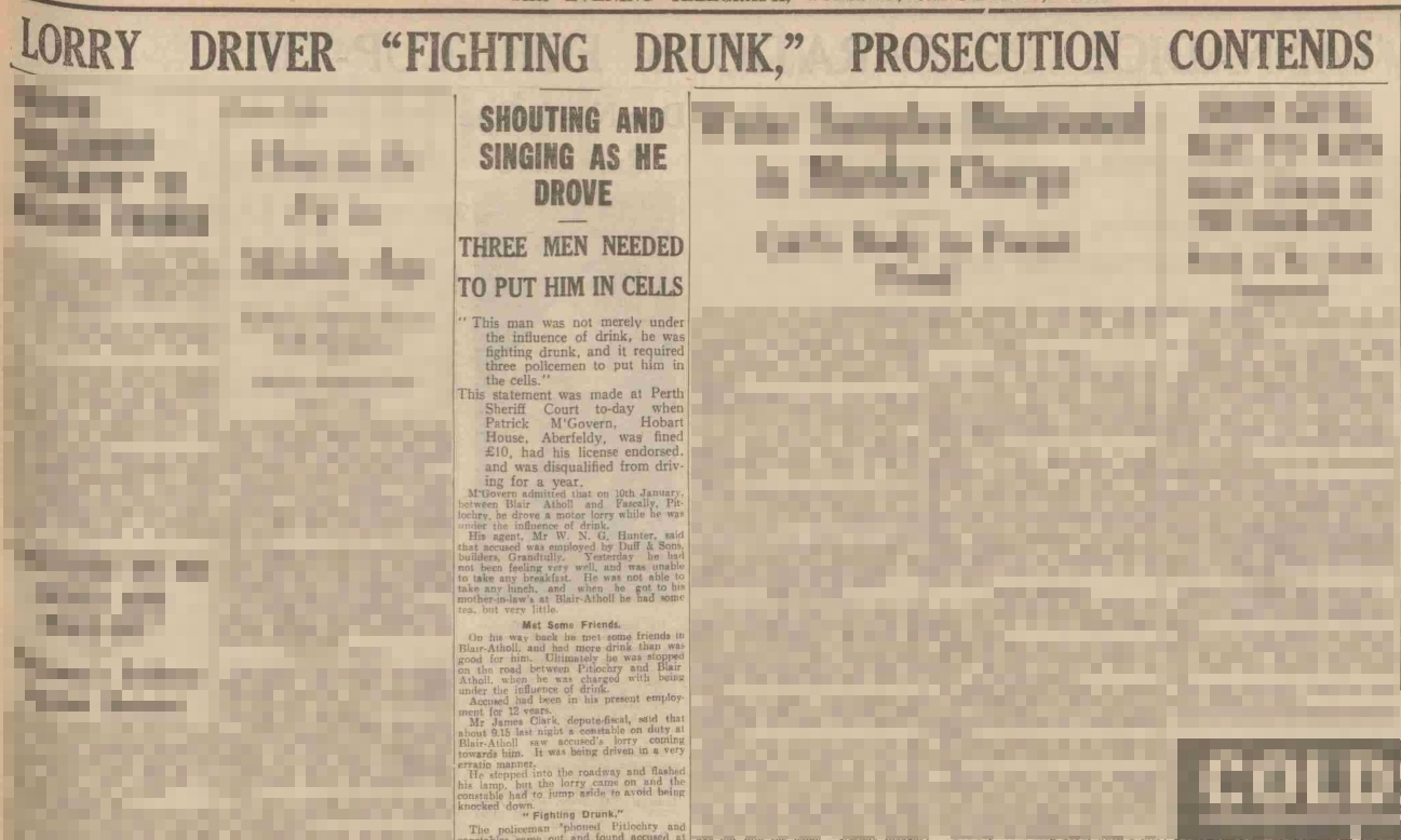The story reported in 1938.