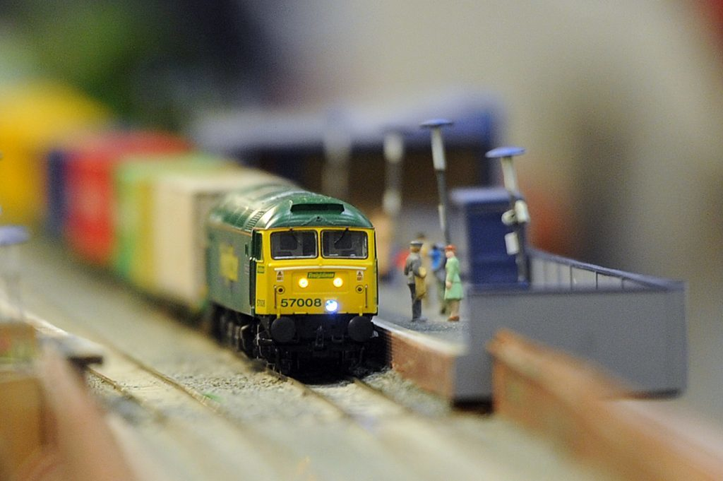 A recent model railway exhibition in Dundee