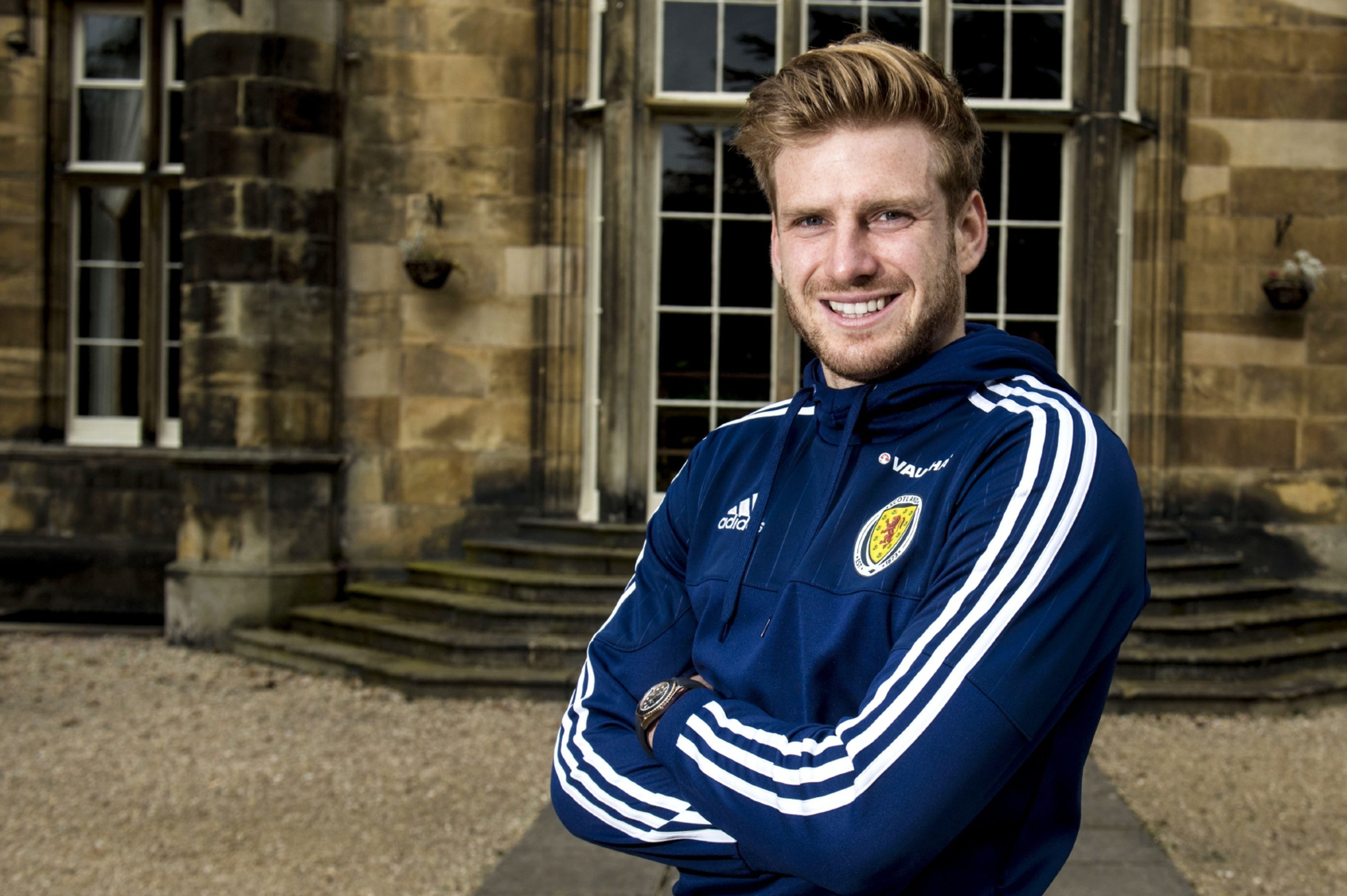 Stuart Armstrong benefited from boys' club football.