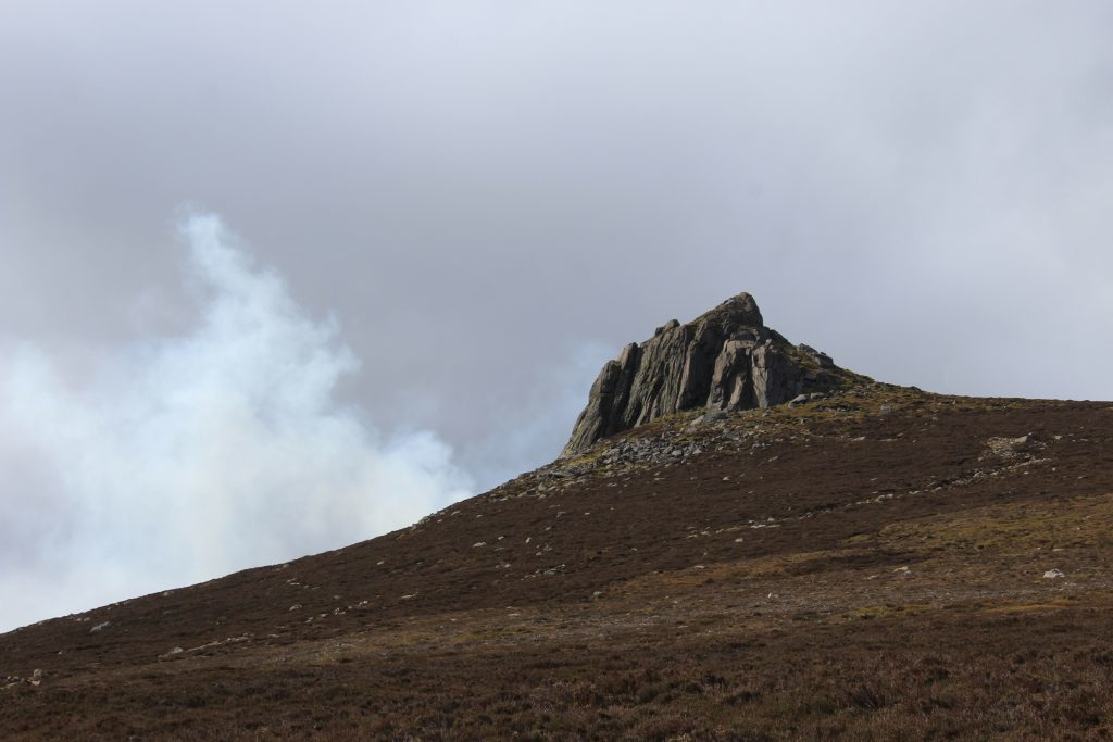 1 - The granite tor on top of Clachnaben - James Carron, Take a Hike