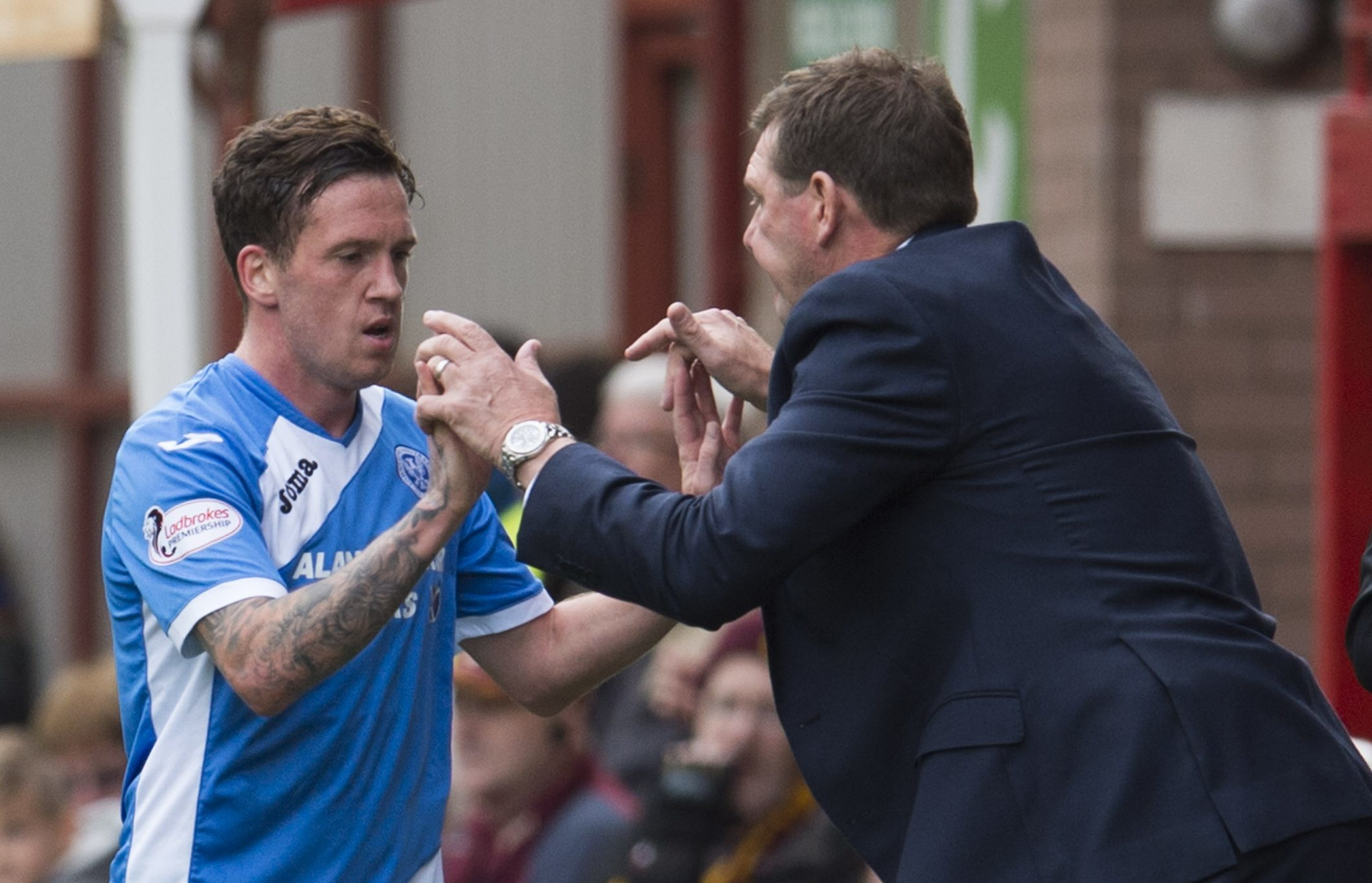 Danny Swanson and Tommy Wright.