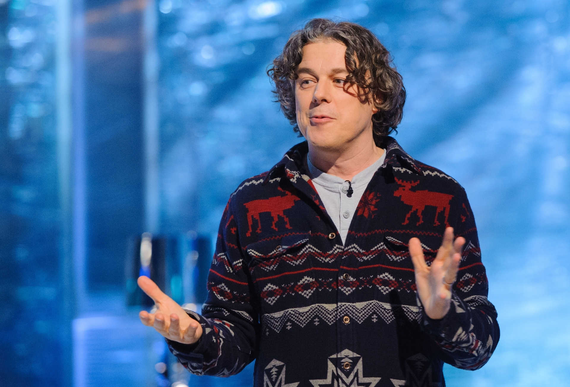 Alan Davies is sure to be a hoot when he appears at Carnegie Hall.