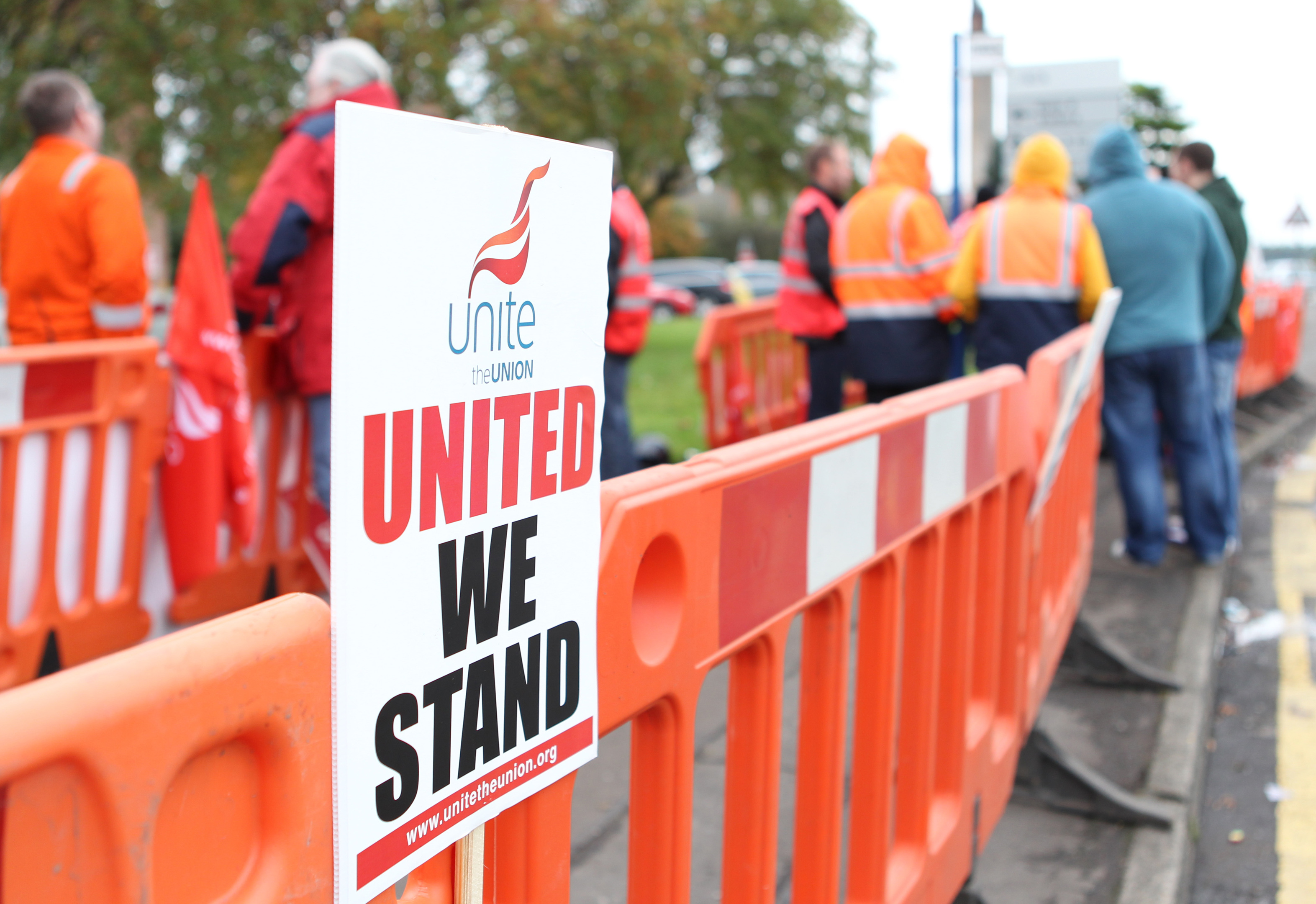 Unite says its members overwhelmingly backed strike action
