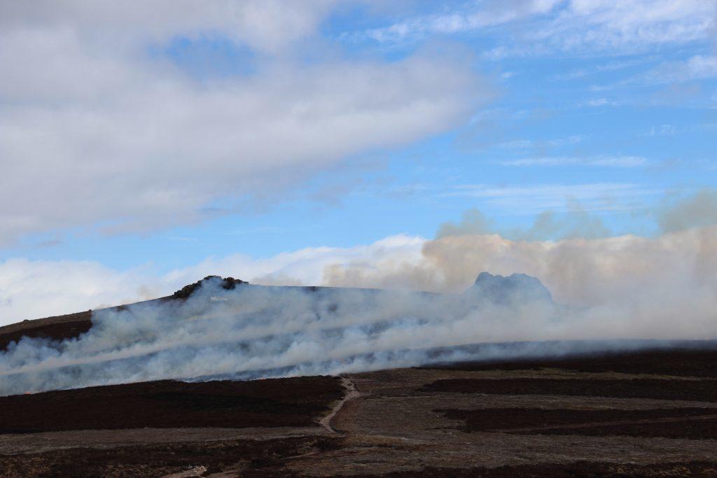 2 - Heather burning on Clachnaben - James Carron, Take a Hike
