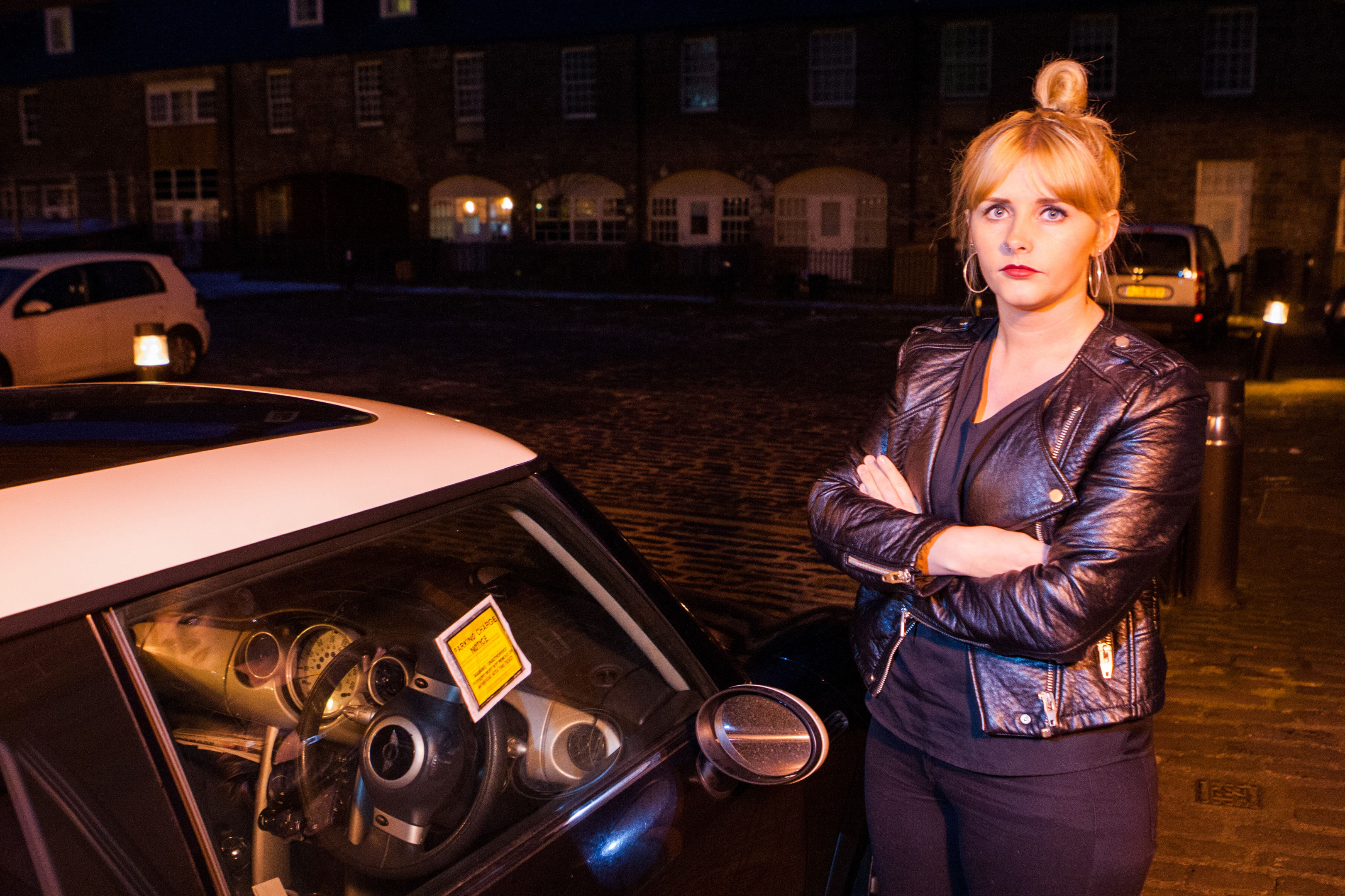 Carly Mackie has built up tens of thousands in unpaid parking charges.