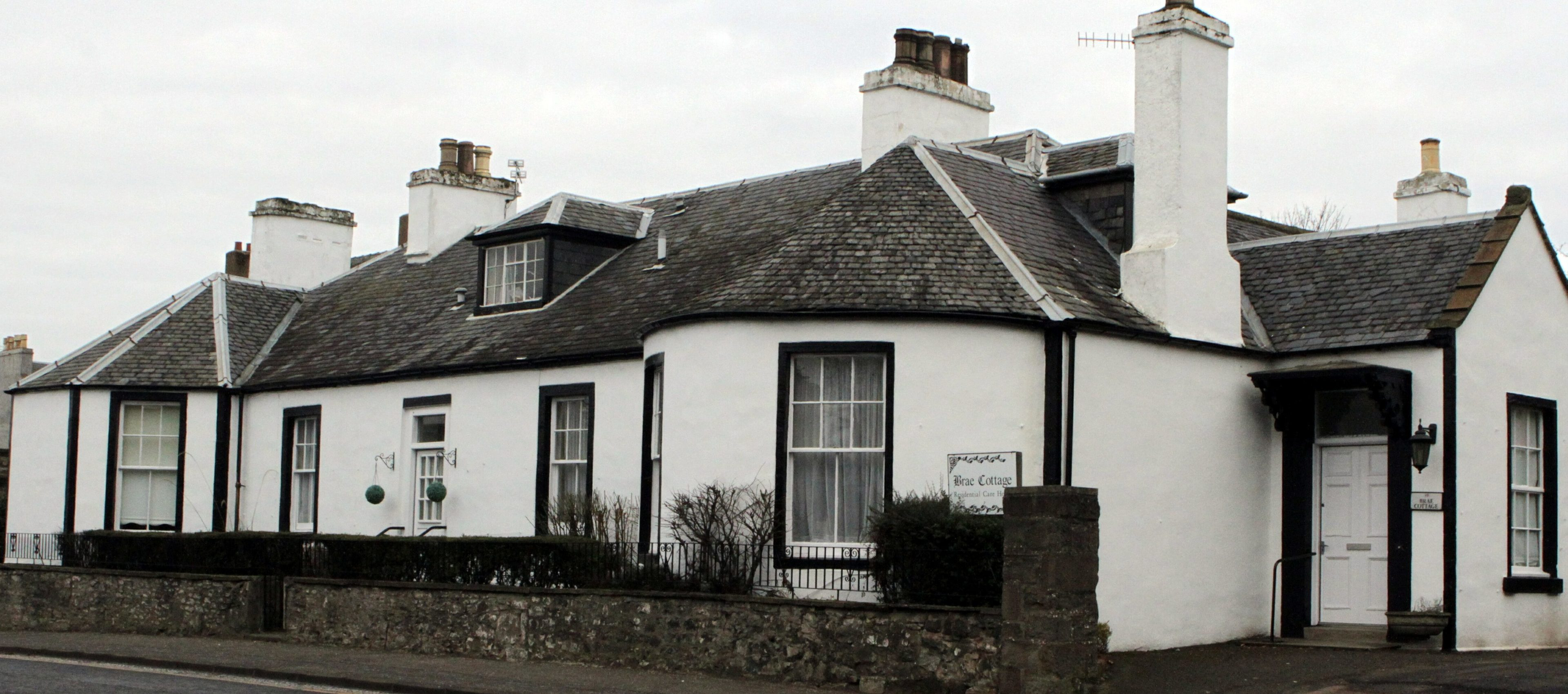Brae Cottage closed a fortnight ago.
