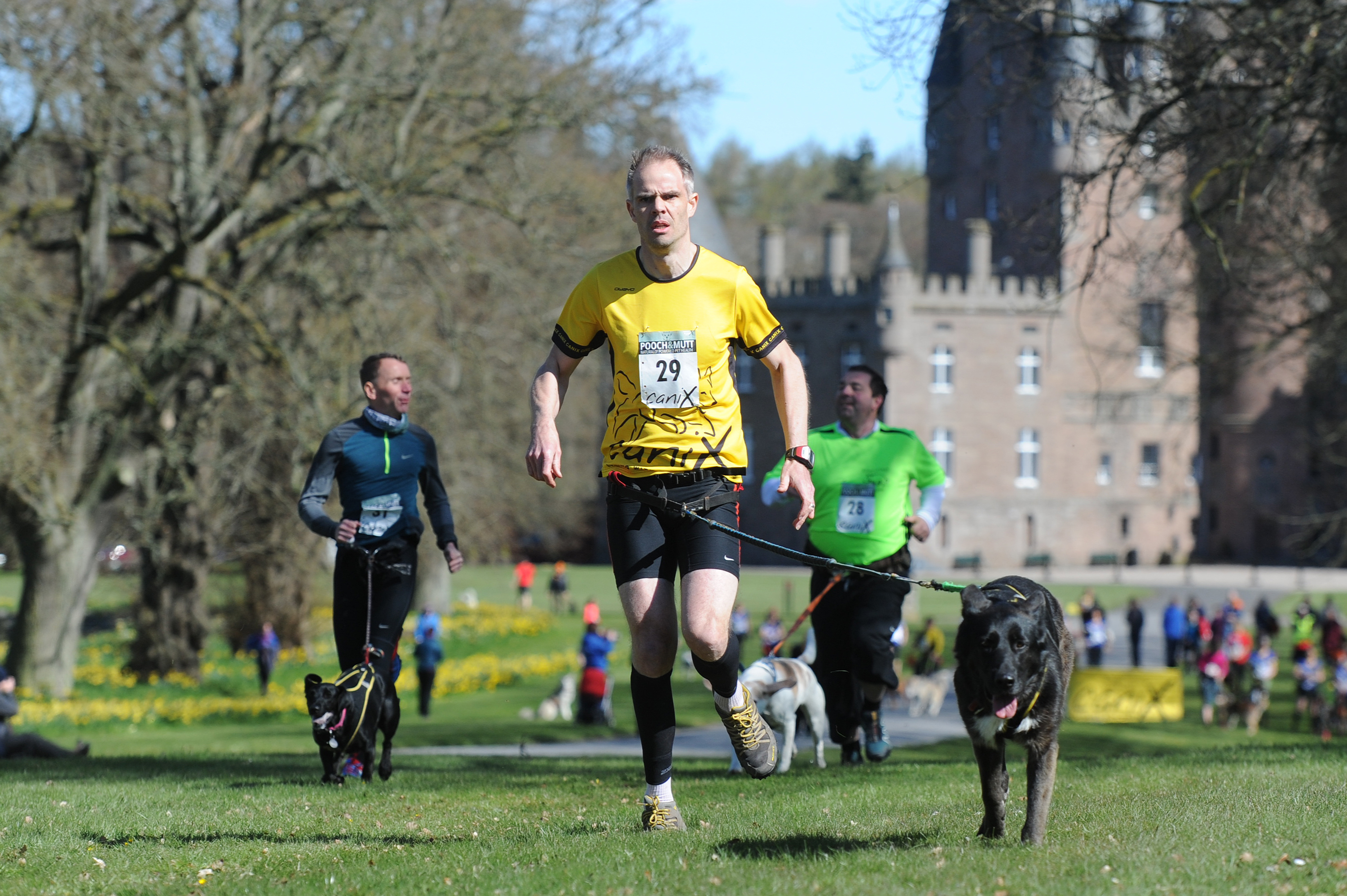 Competitors in last year's event at Glamis Castle