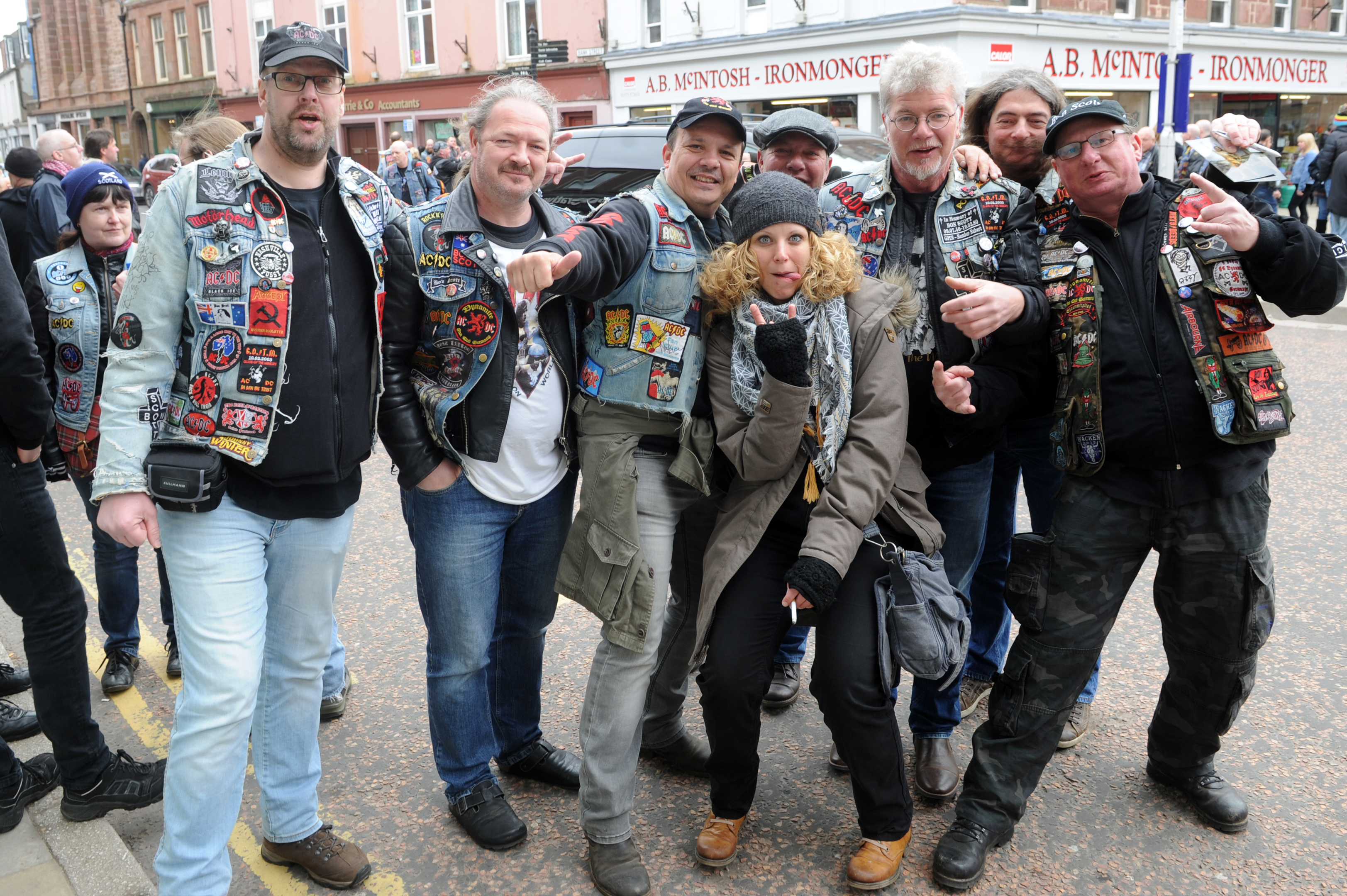 The event has been put on by the organisers of BonFest, which brings hundreds of fans to Kirriemuir every year.