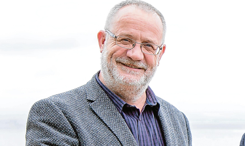 Fife Chamber of Commerce president Peter Southcott