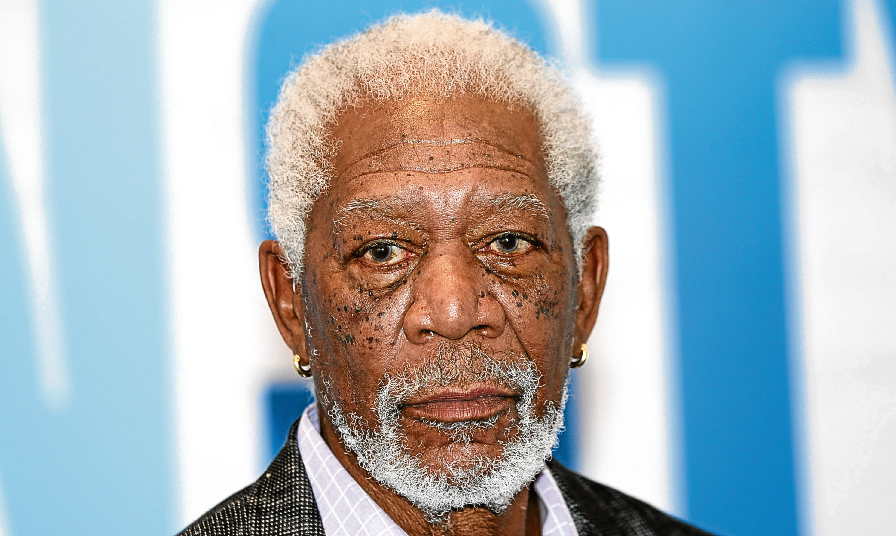 Morgan Freeman - who won't do your voicemails any more.