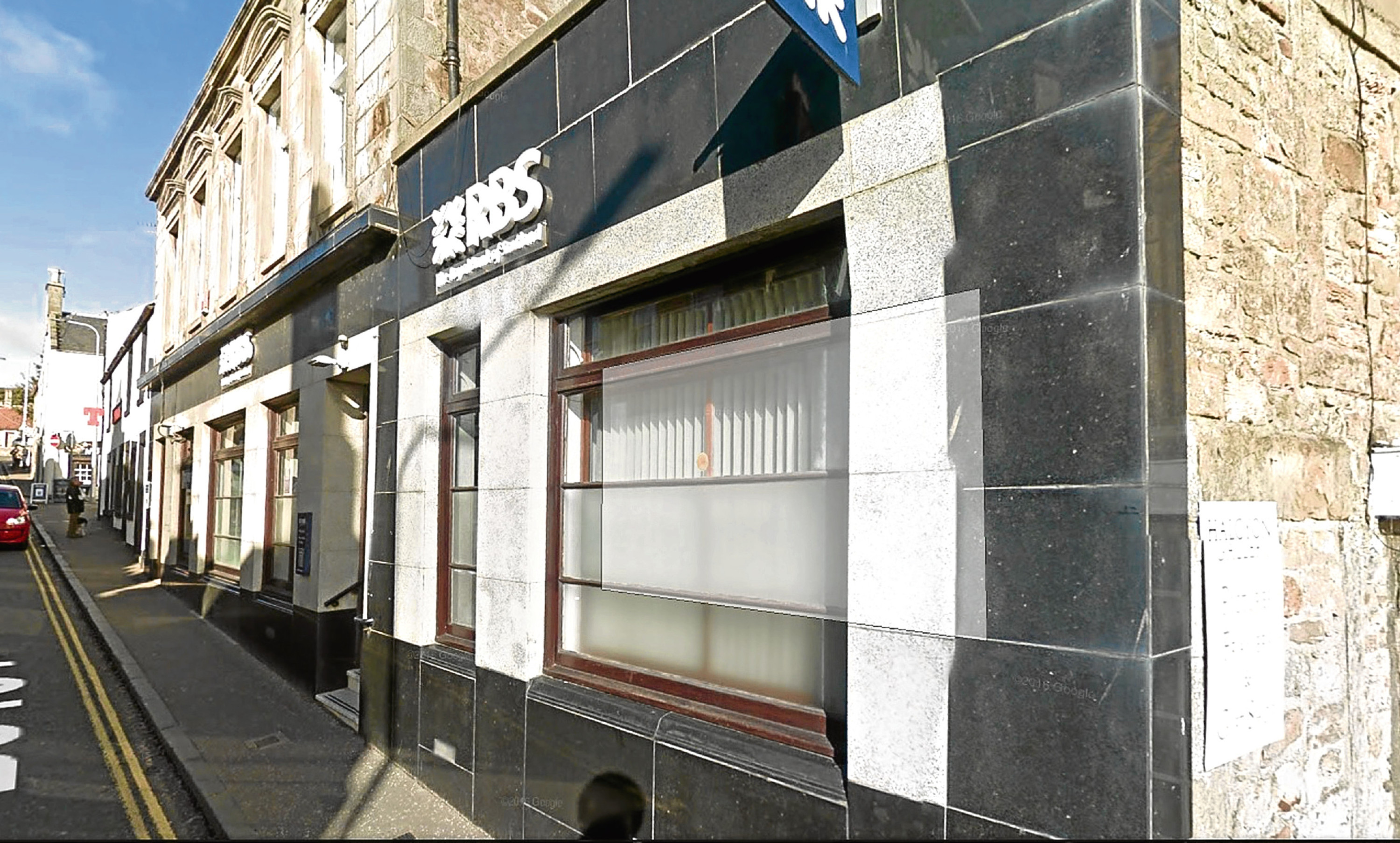 Royal Bank of Scotland 's Anstruther branch.