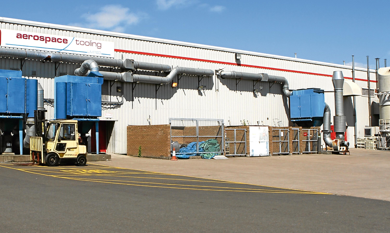 Aerospace Tooling's premises at Baldovie Industrial Estate.