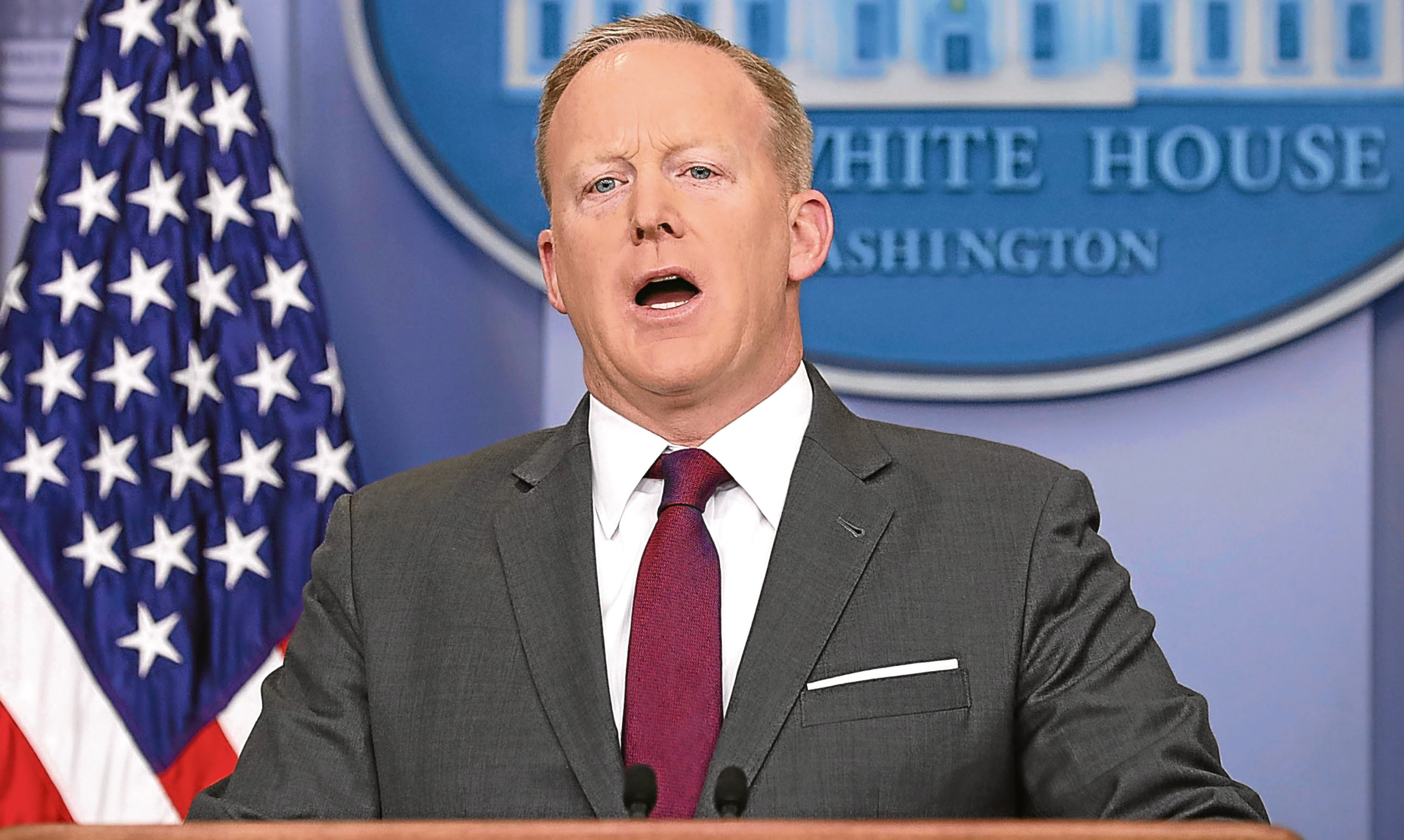 Sean Spicer is so famous, Melissa McCarthy now does a hilarious spoof of him.