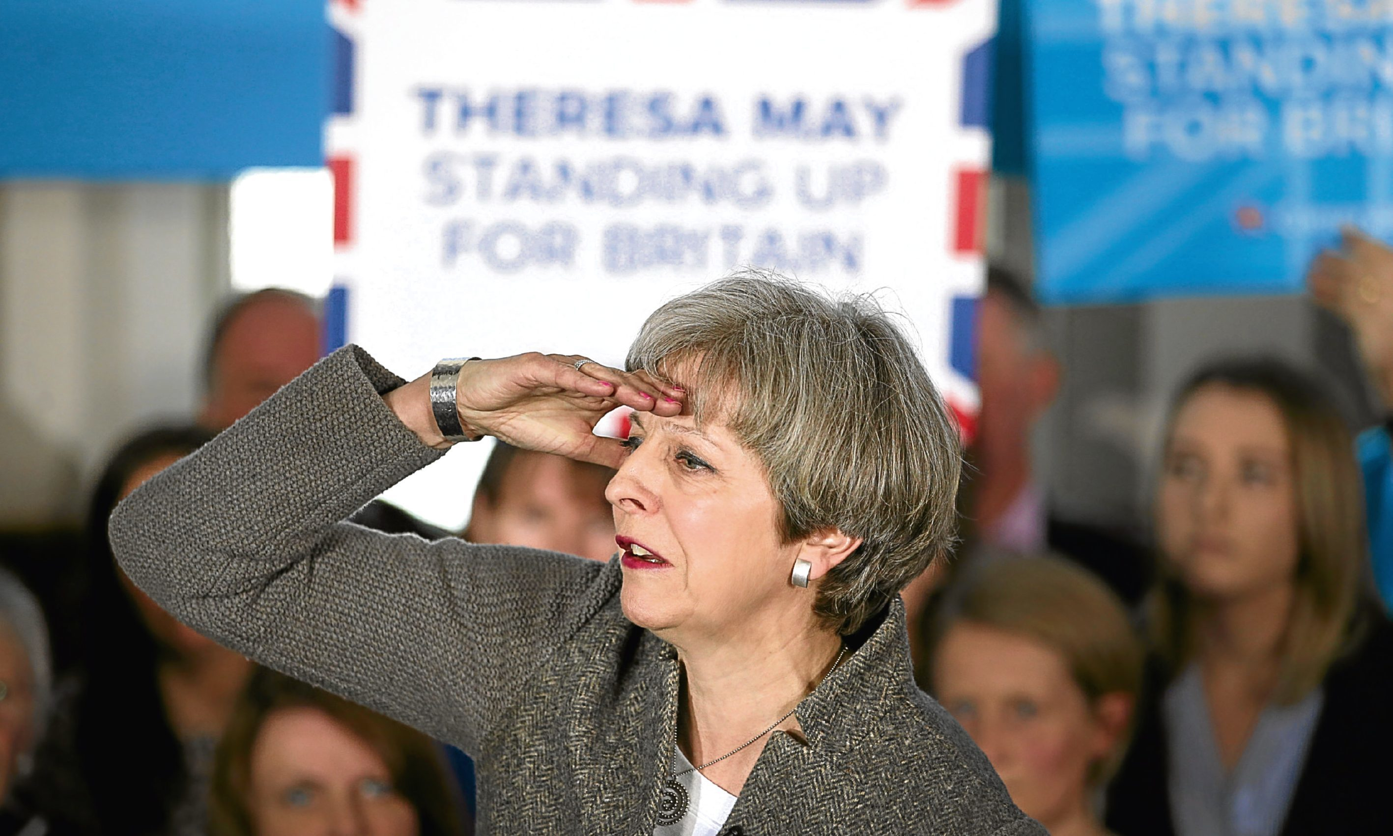 Prime Minister Theresa May has said she would use nuclear weapons if she had to.