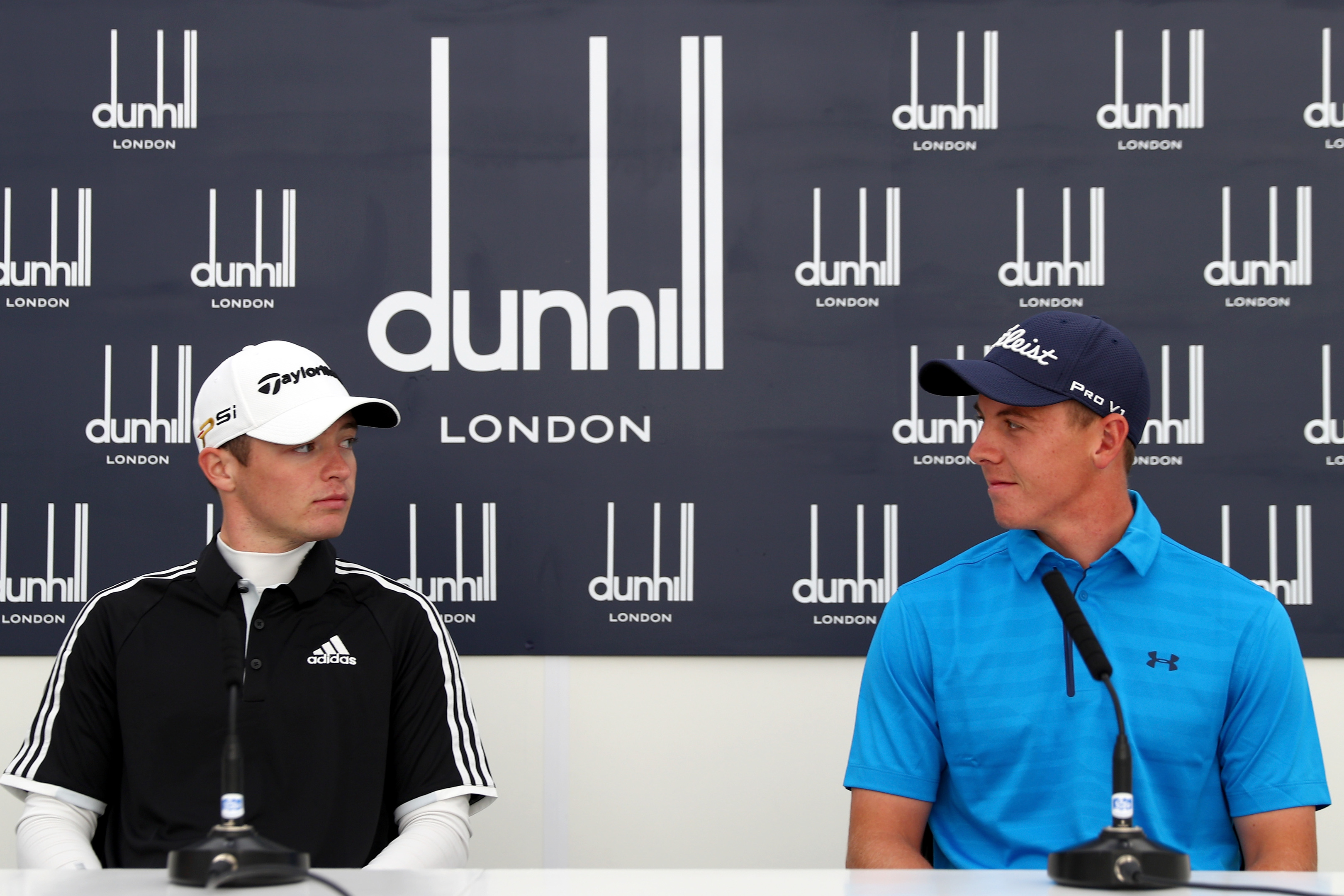 Former Walker Cup stars Ewen Ferguson (right) and Grant Forrest are the first recipients of a new joint scheme to back young Scottish pros.