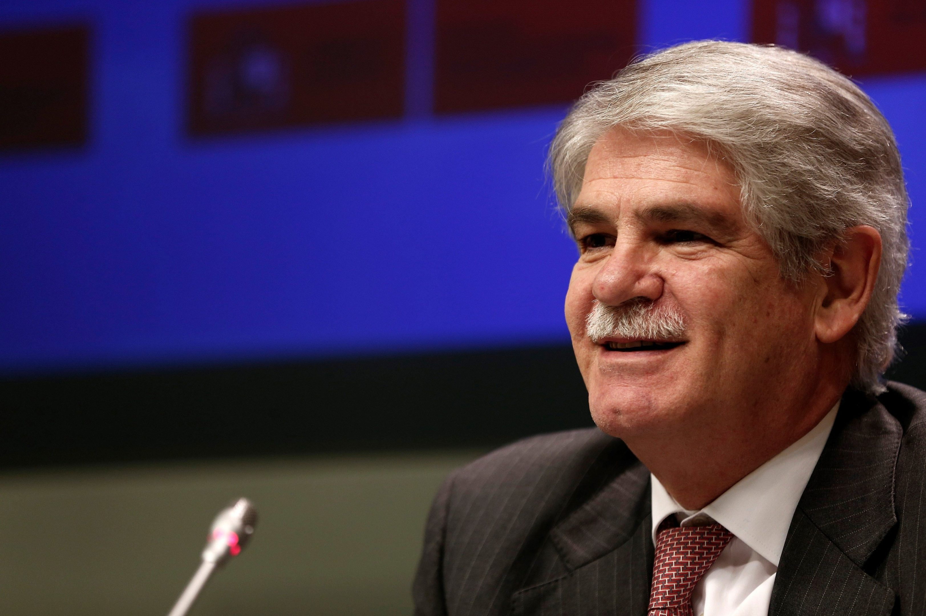 Spanish Foreign Minister Alfonso Dastis