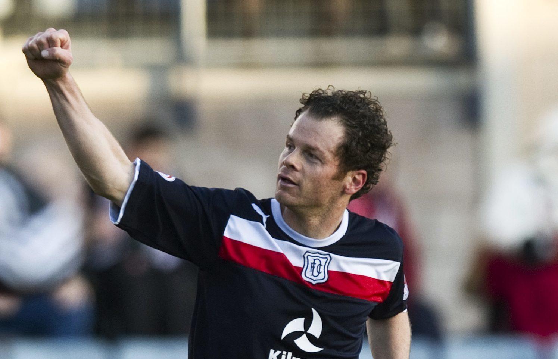Matt Lockwood in action for Dundee