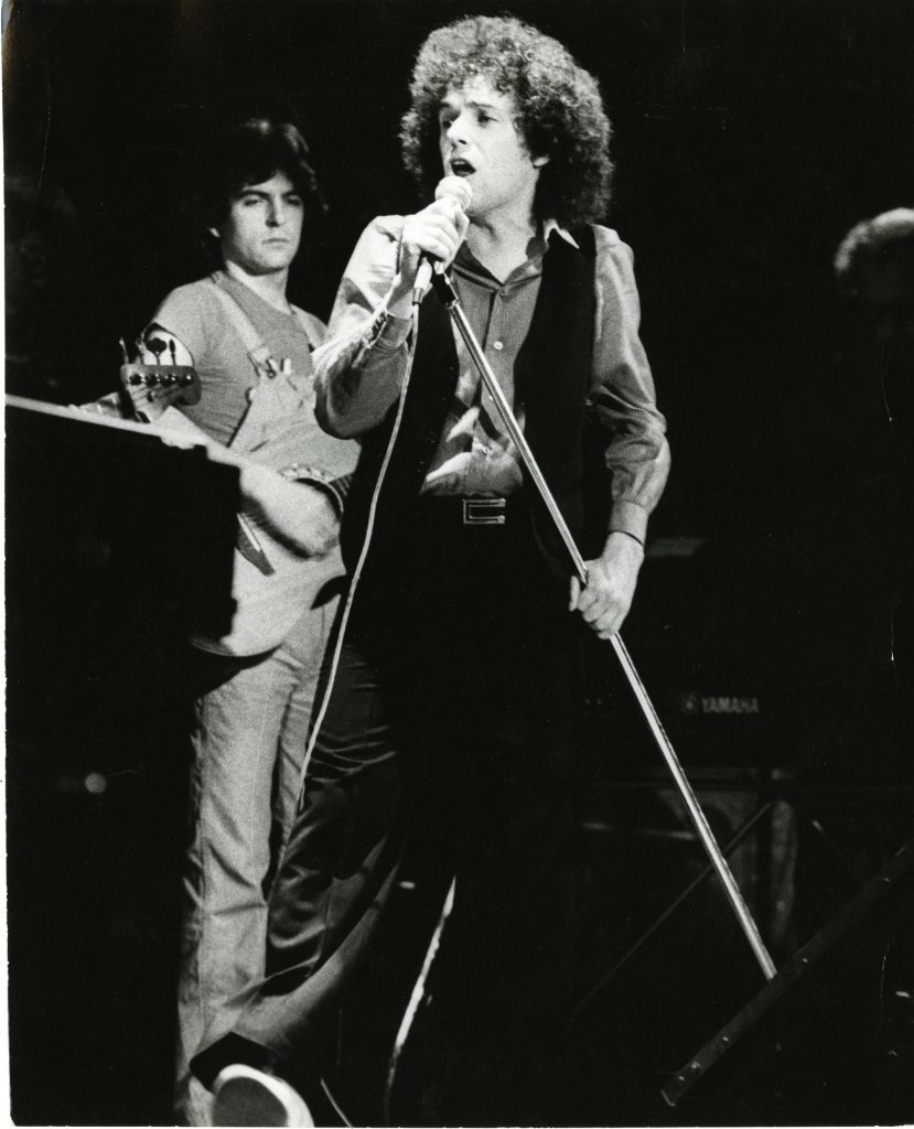 Leo in concert at the Caird Hall in November 1978.
