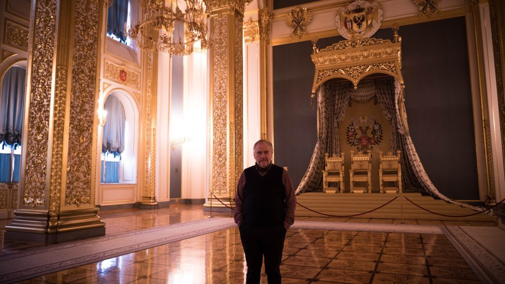 Brian Cox in the Kremlin, Moscow