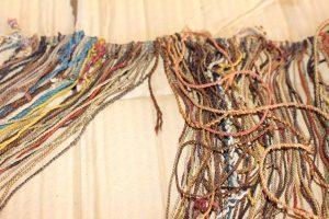Collata coloured khipu cords
