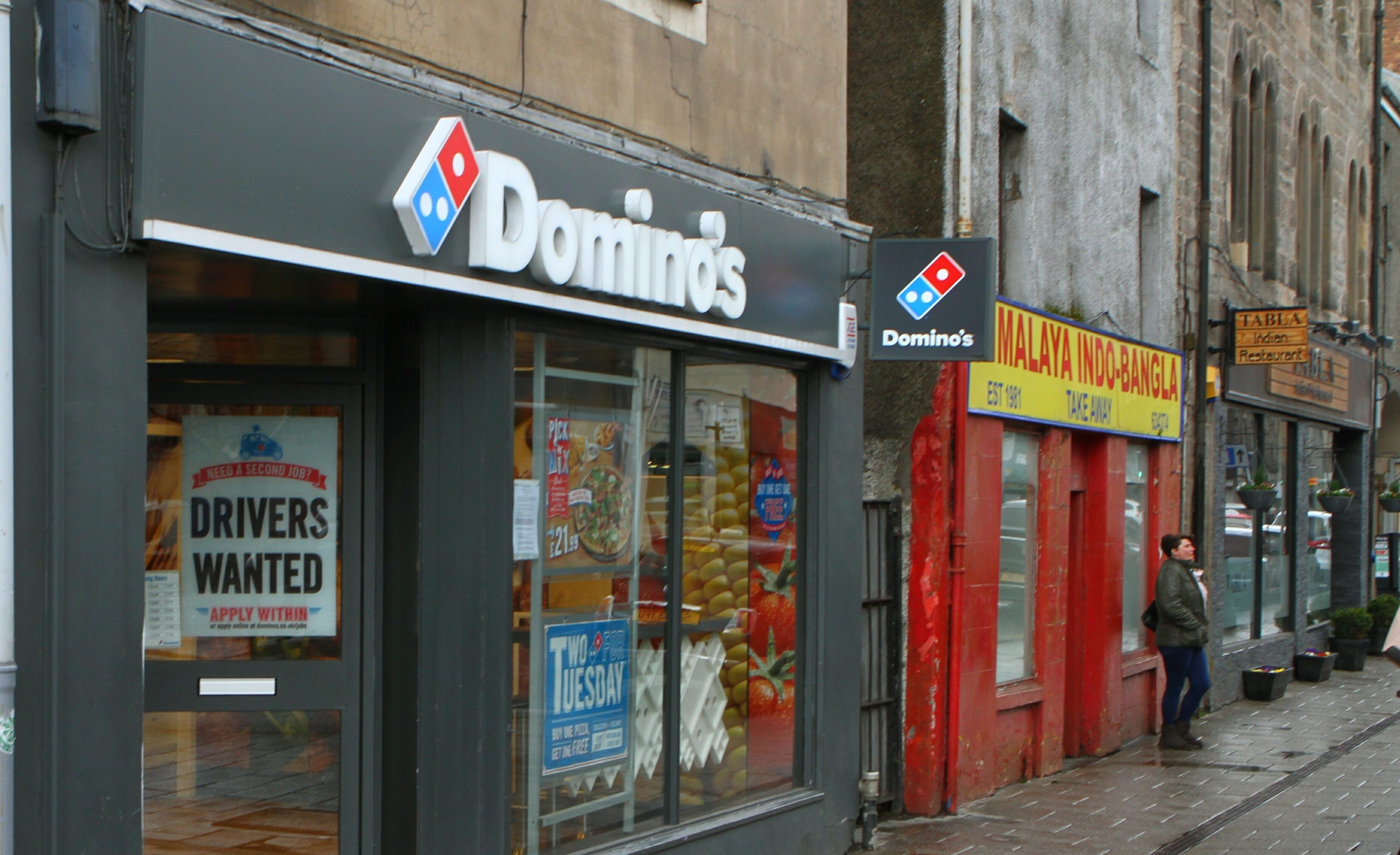 Domino's Pizza in Perth's South Street.