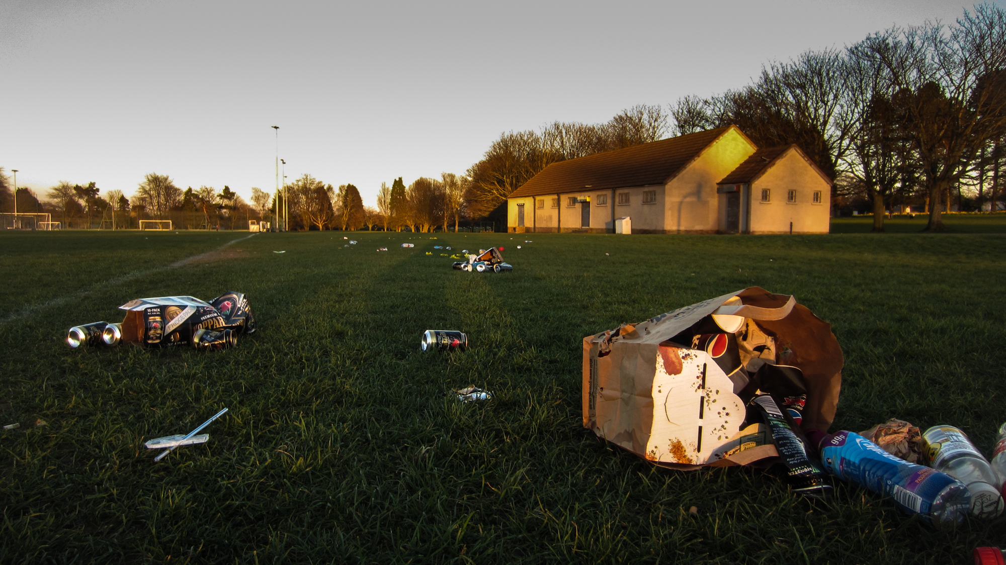 """Locals have hit out at football clubs for """"ruining"""" Dawson Park."""