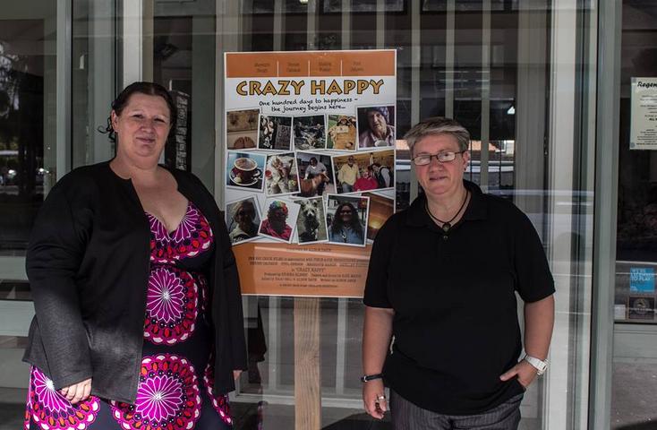 Crazy Happy's producer Zuleika Gilbert (left) and writer/director Alison Davie.