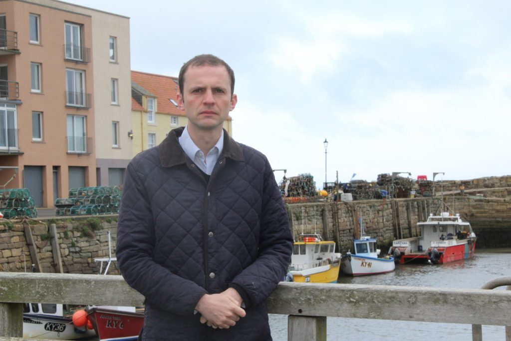 SNP North East Fife candidate Stephen Gethins