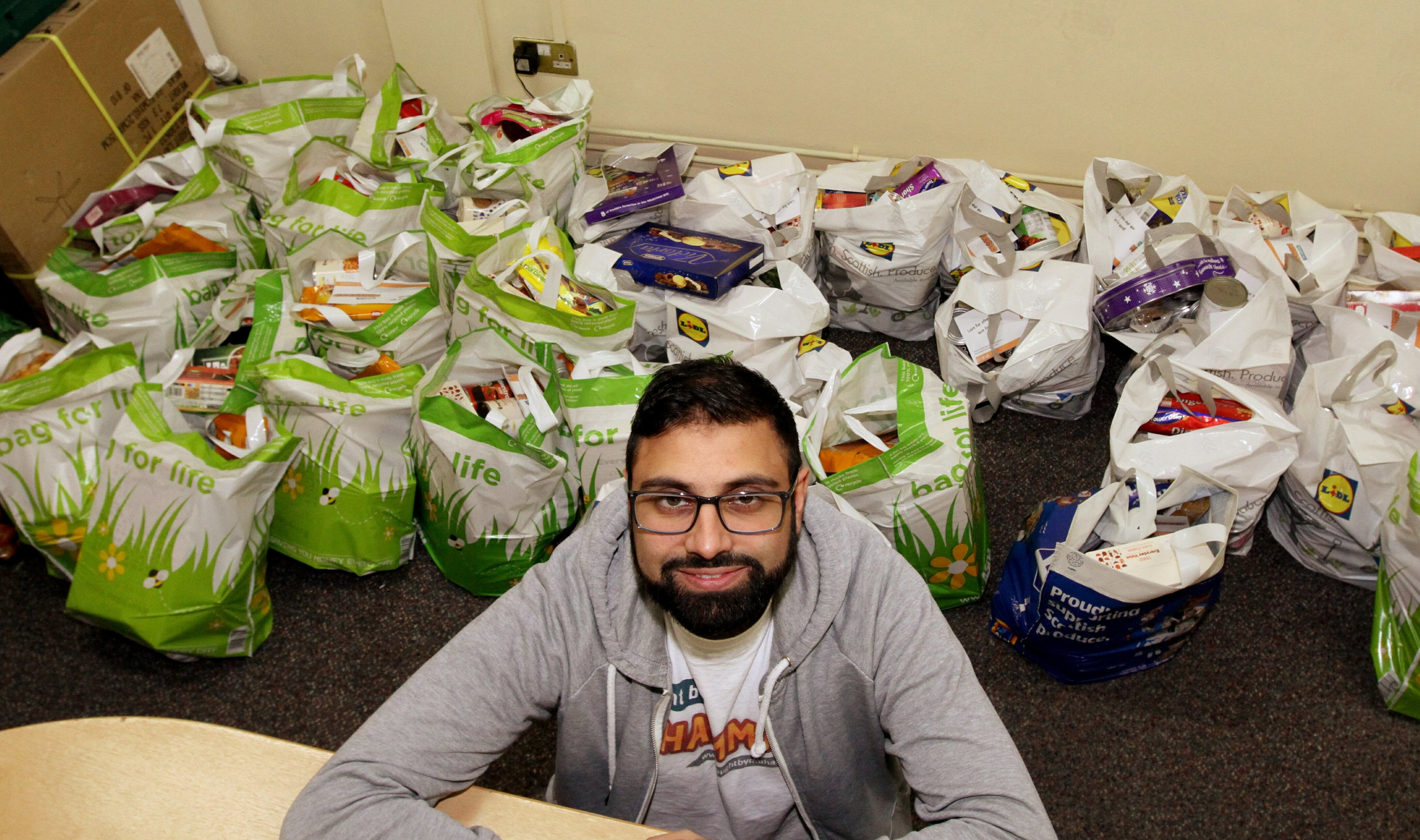 Rizwan has already noticed a difference following Universal Credit.