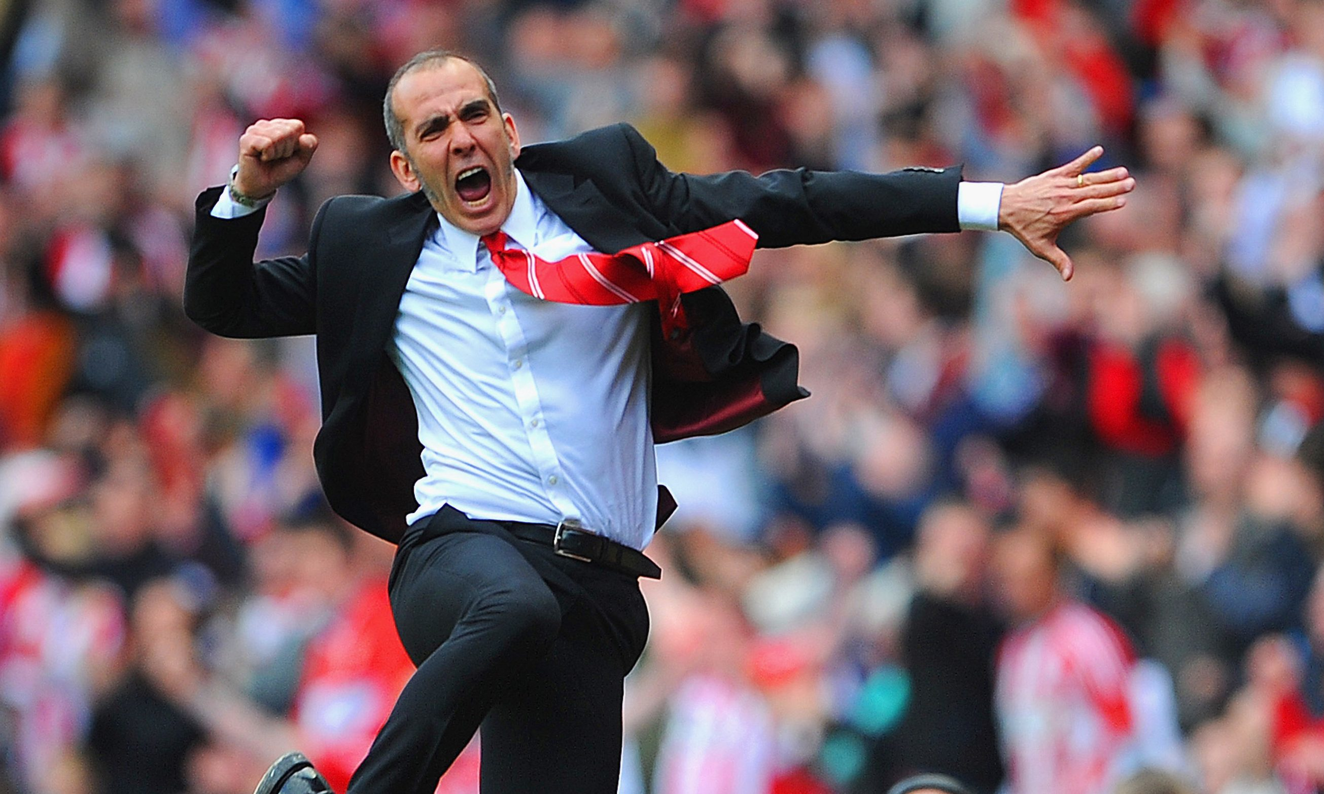 Paolo Di Canio enjoys one of the better afternoons in his short time with Sunderland.