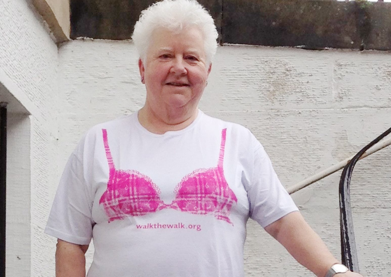 Crime author Val McDermid who is in training to take part in this year's Moonwalk in aid of cancer charities.   FREE TO USE - UGC MSN