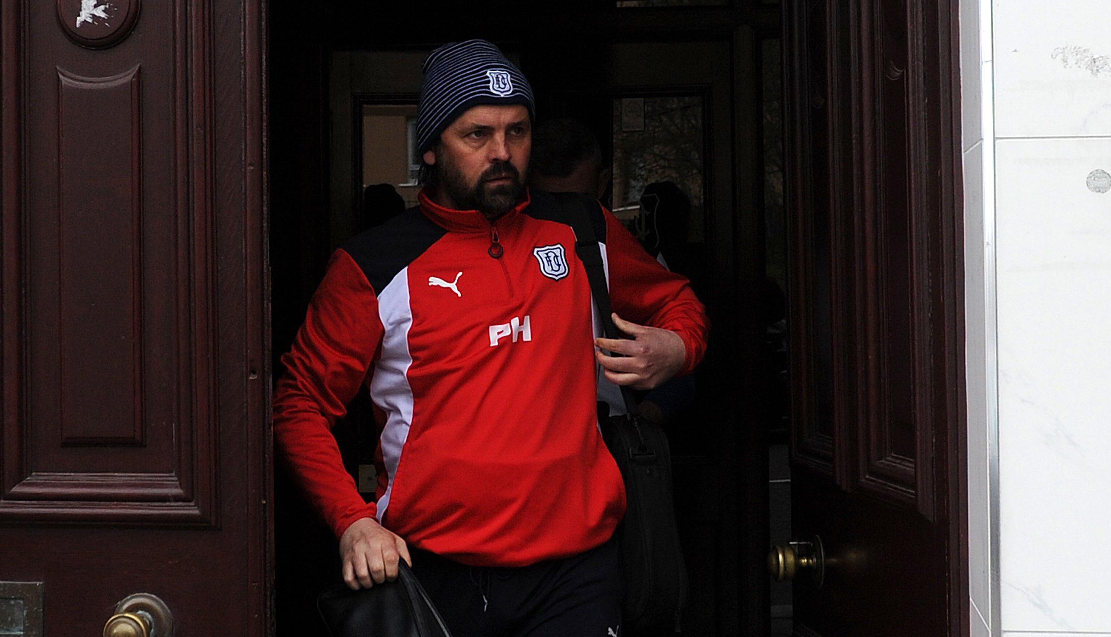 Paul Hartley leaving Dens in April.