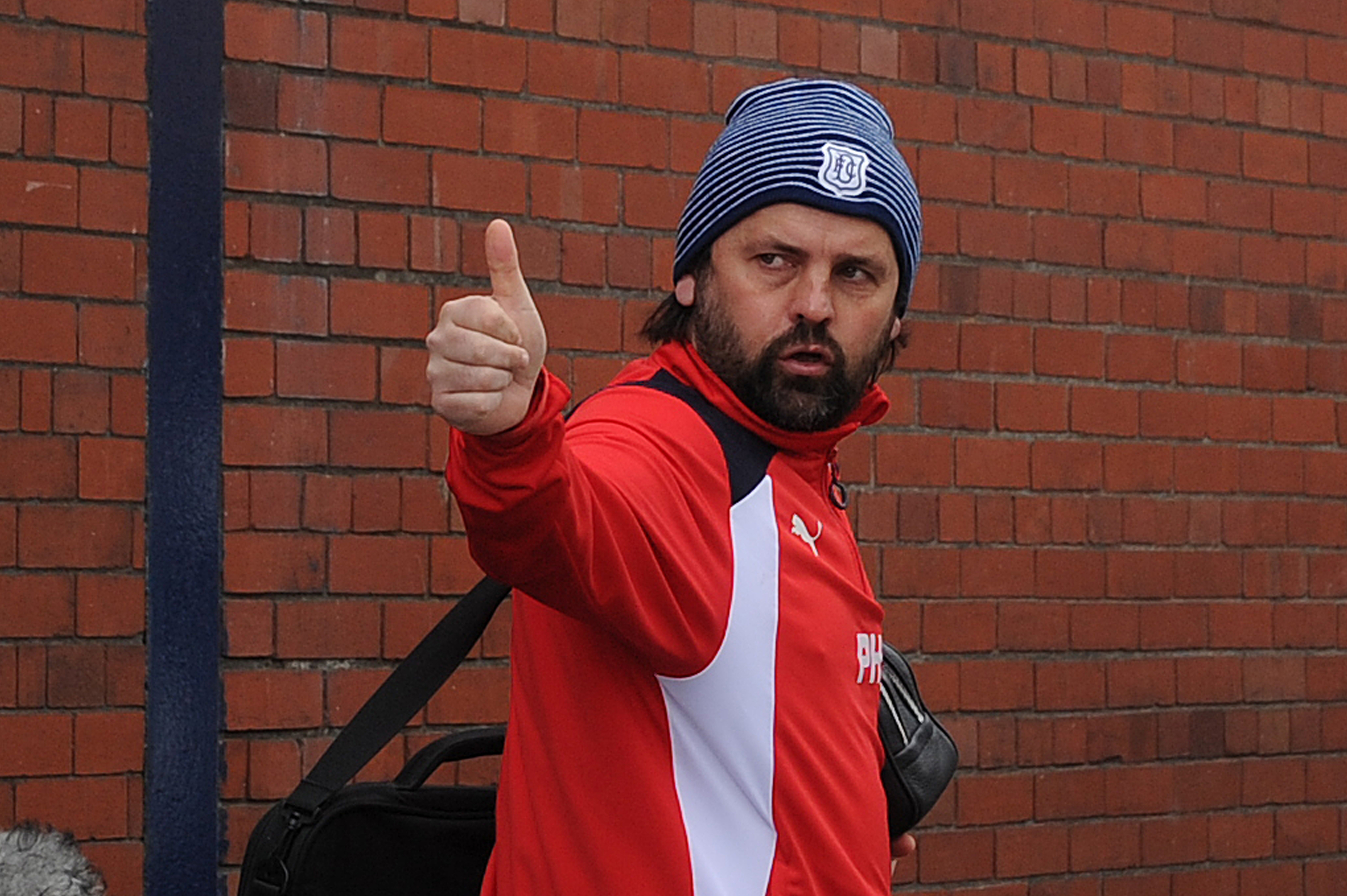 Paul Hartley departing Dens Park in April after being told his services are no longer required.